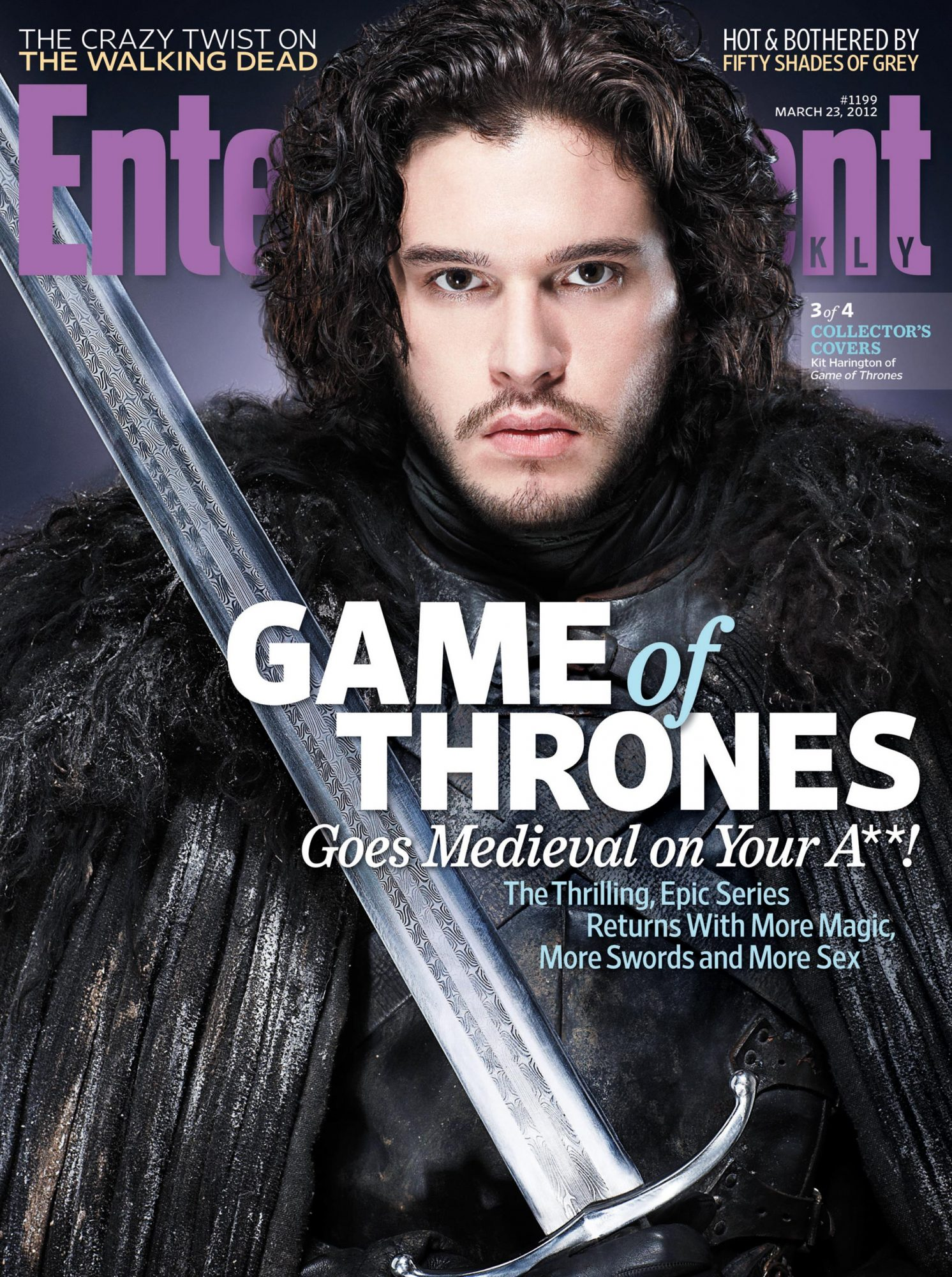 Entertainment WeeklyIssue # 1199 - March, 23, 2012Game Of Thrones