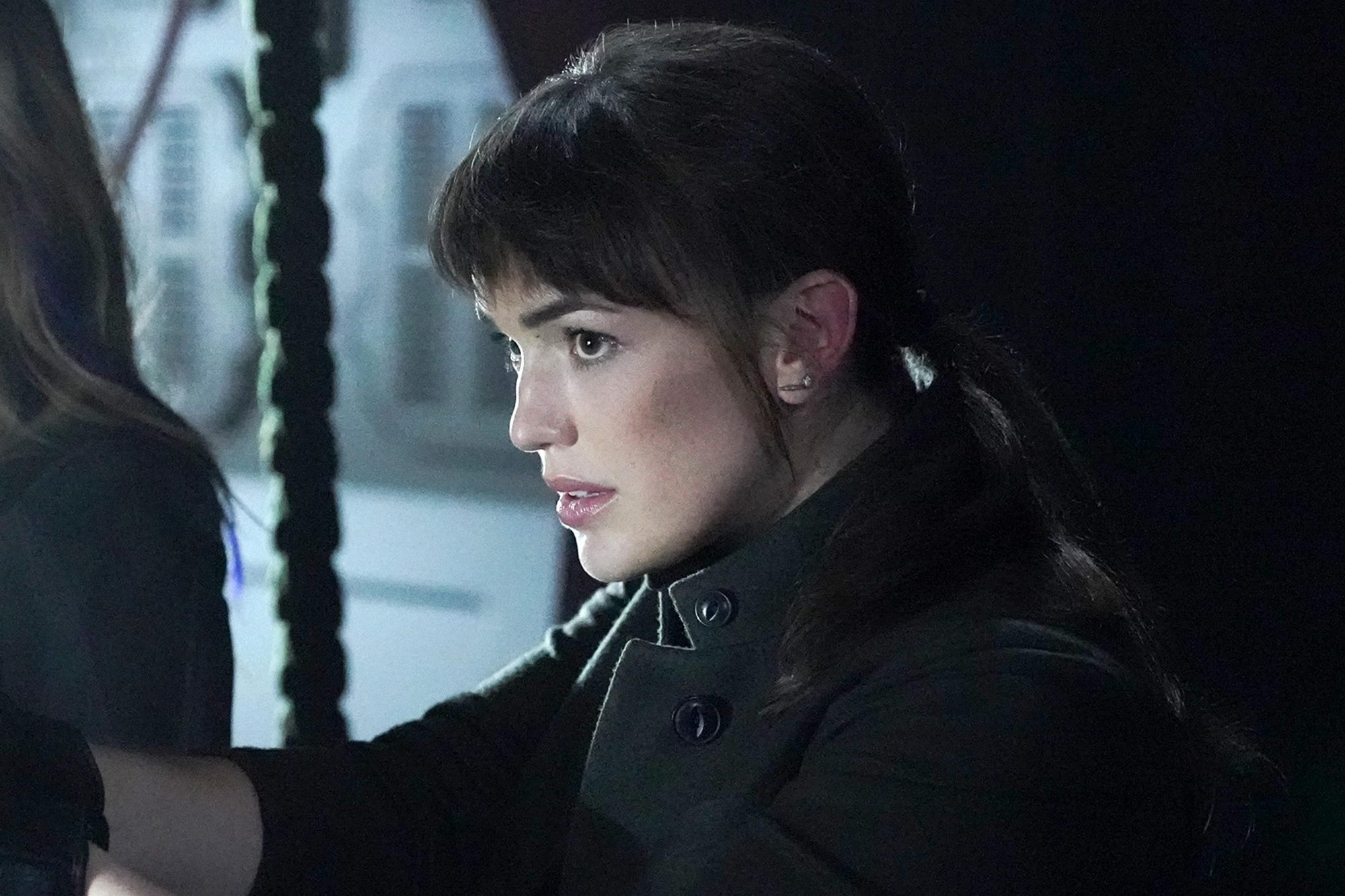 """MARVEL'S AGENTS OF S.H.I.E.L.D. - """"Missing Pieces"""" - Scattered across the galaxy, the team works to find their footing in the wake of losing Coulson in the spectacular Season 6 premiere of """"Marvel's Agents of S.H.I.E.L.D.,"""" FRIDAY, MAY 10 (8:00-9:00 p.m. EDT, on The ABC Television Network. (ABC/Mitch Haaseth) CHLOE BENNET, ELIZABETH HENSTRIDGE"""