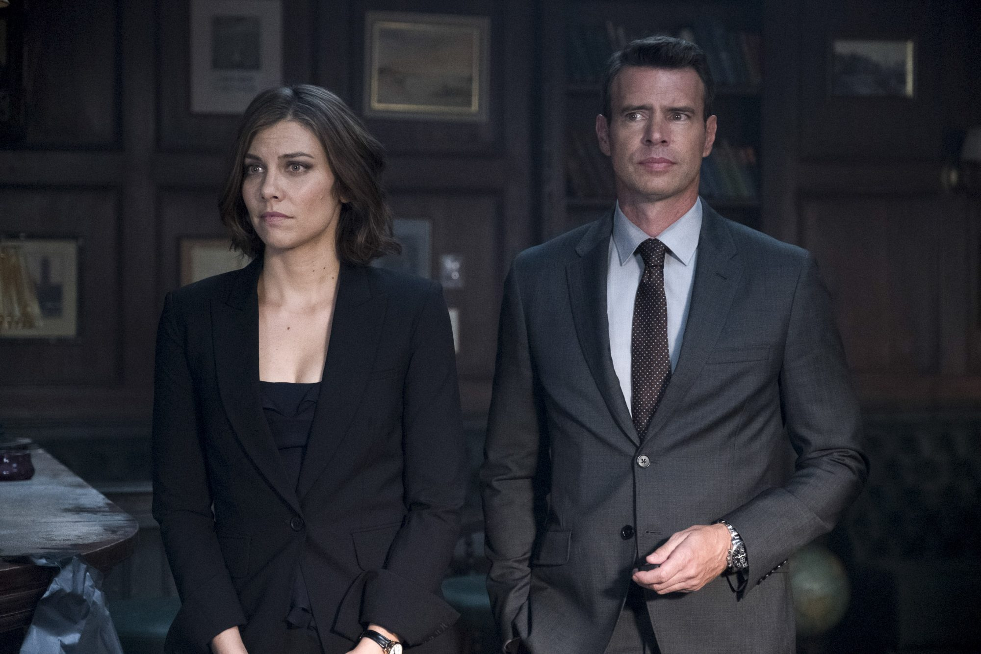 "WHISKEY CAVALIER - ""When in Rome"" - Will and Frankie continue to clash, and their growing pains may jeopardize the team's next mission in Rome where they are sent to prevent a terrorist attack, on ""Whiskey Cavalier,"" airing WEDNESDAY, MARCH 13 (10:00-11:00 p.m. EDT), on The ABC Television Network. (ABC/Larry D. Horricks) LAUREN COHAN, SCOTT FOLEY"