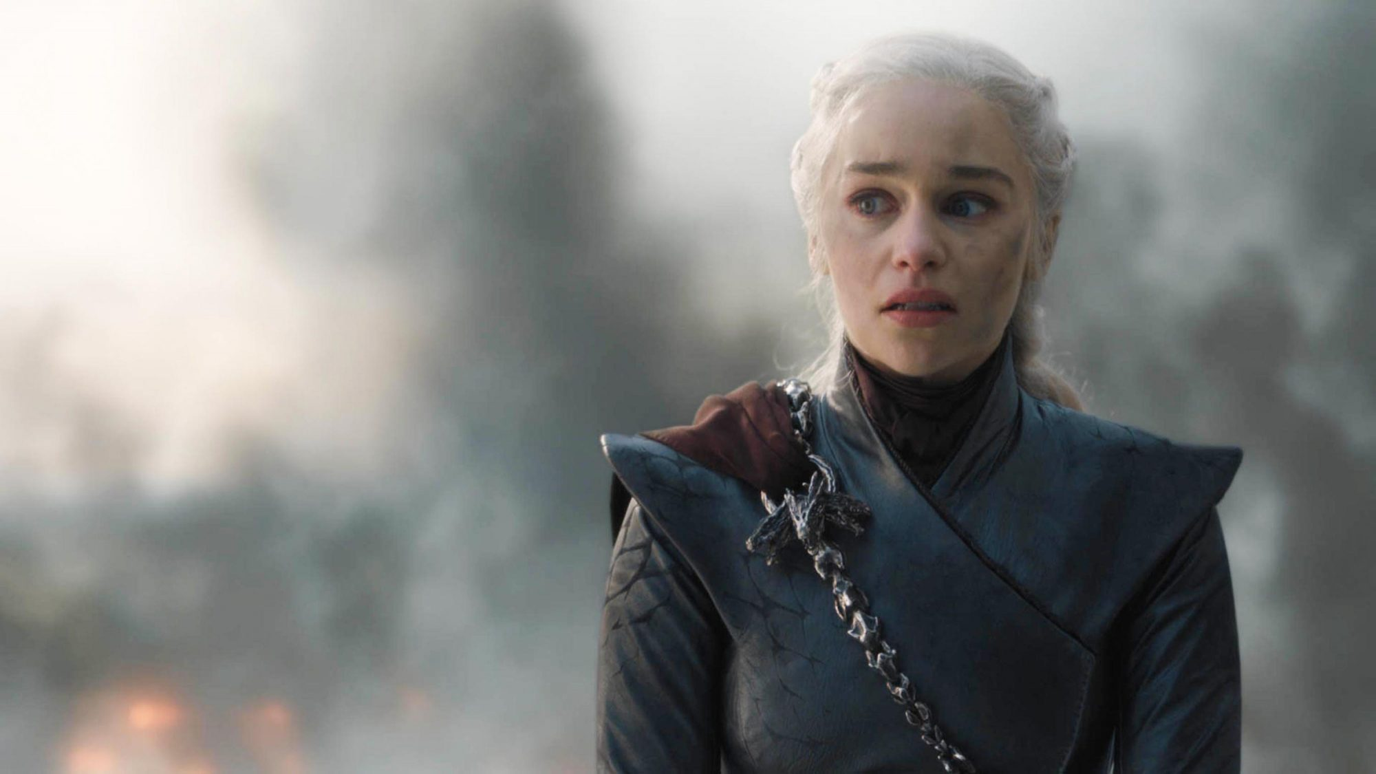 "Game of Thrones Season 8, Episode 5 ""The Bells"" Emilia Clarke as Daenerys Targaryen"