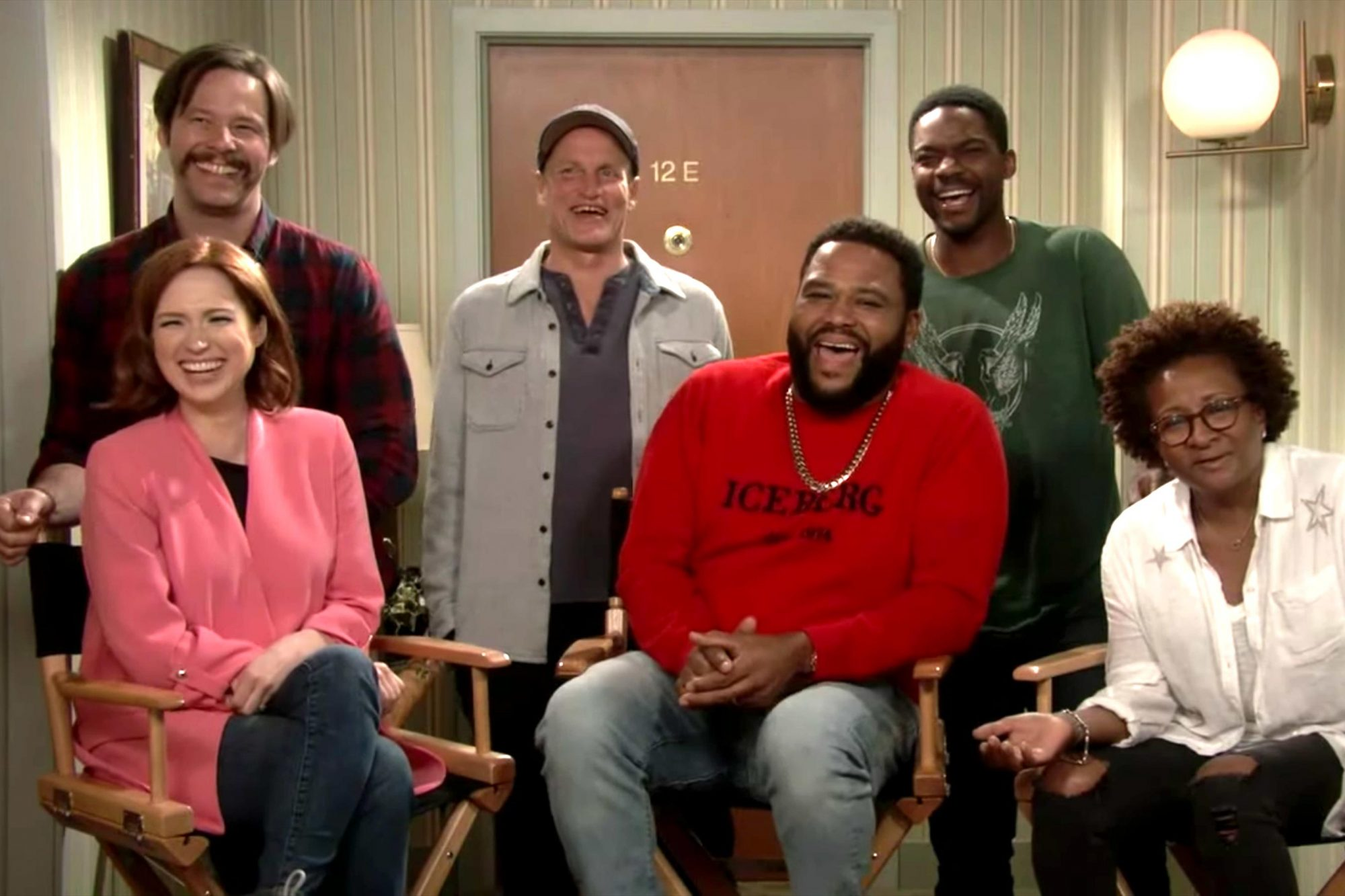 Jimmy Kimmel Chats with Cast of All in the Family & The Jeffersons https://www.youtube.com/watch?v=-0je_x4YQug CR: ABC