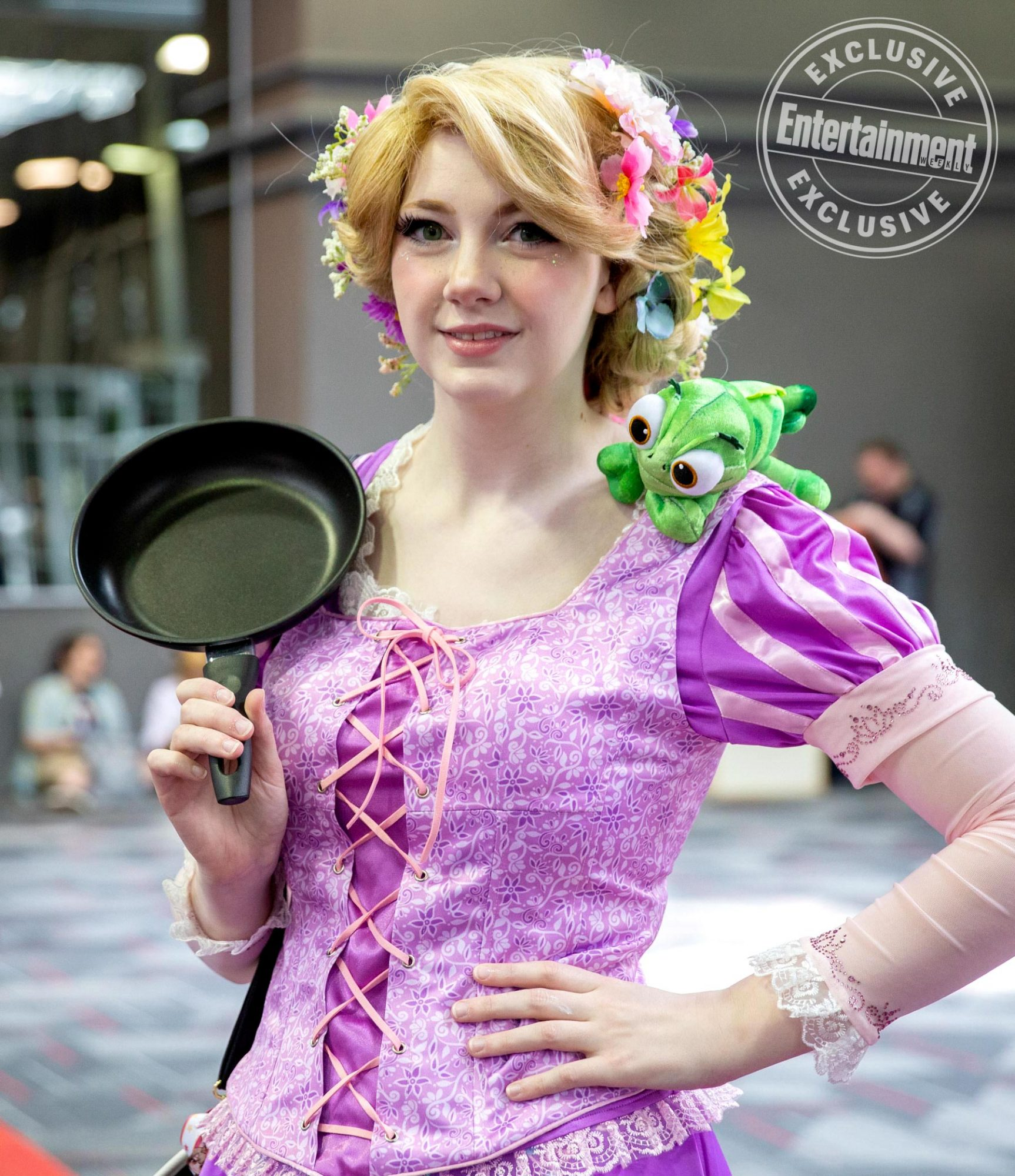 Anime Central 2019 cosplayers photographed on May 18th and 19th in Chicago, IL by Chris Cosgrove for Entertainment Weekly. -- Pictured: Rapunzel from Tangled cosplayer