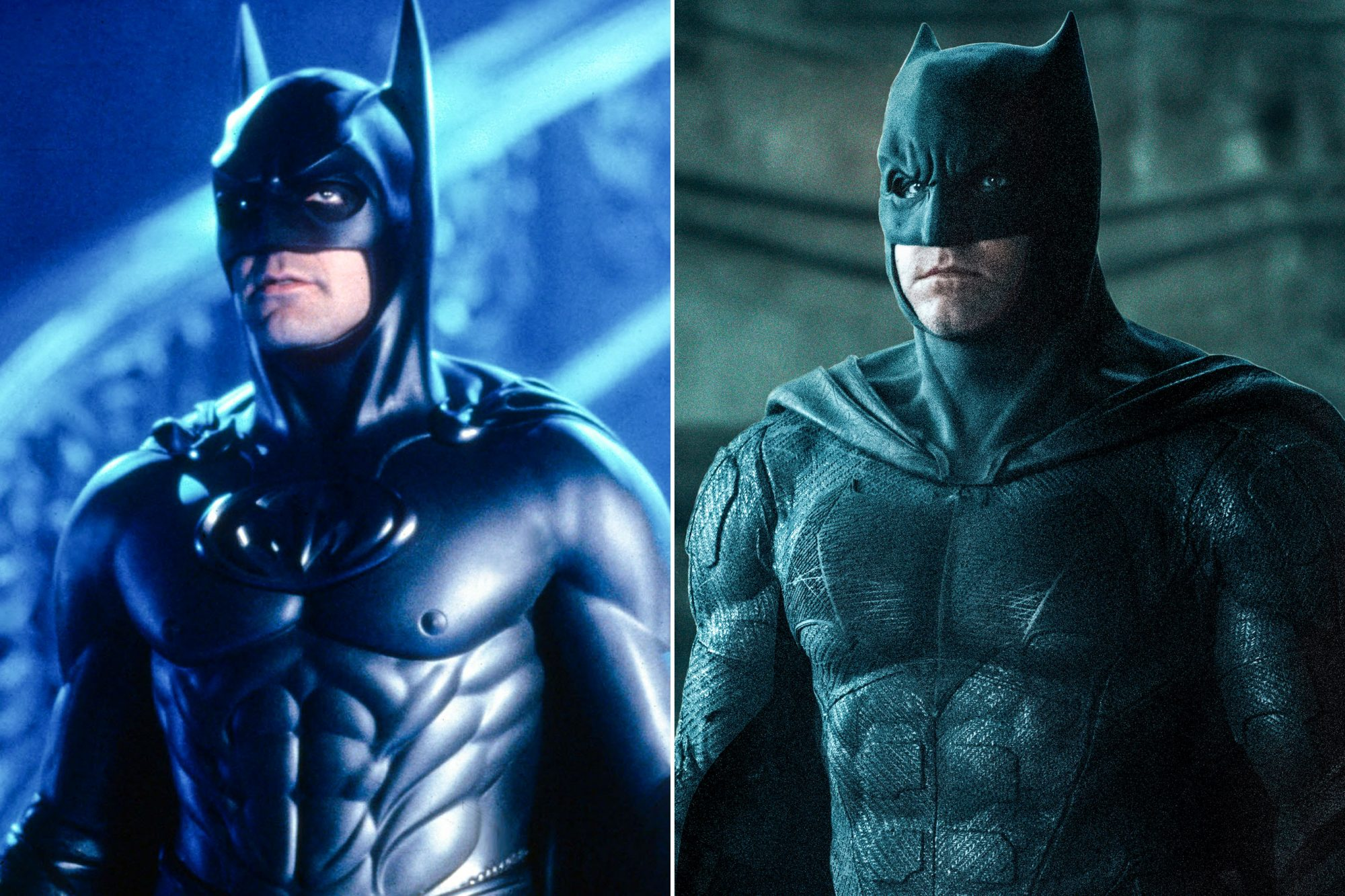 BATMAN and ROBIN; JUSTICE LEAGUE