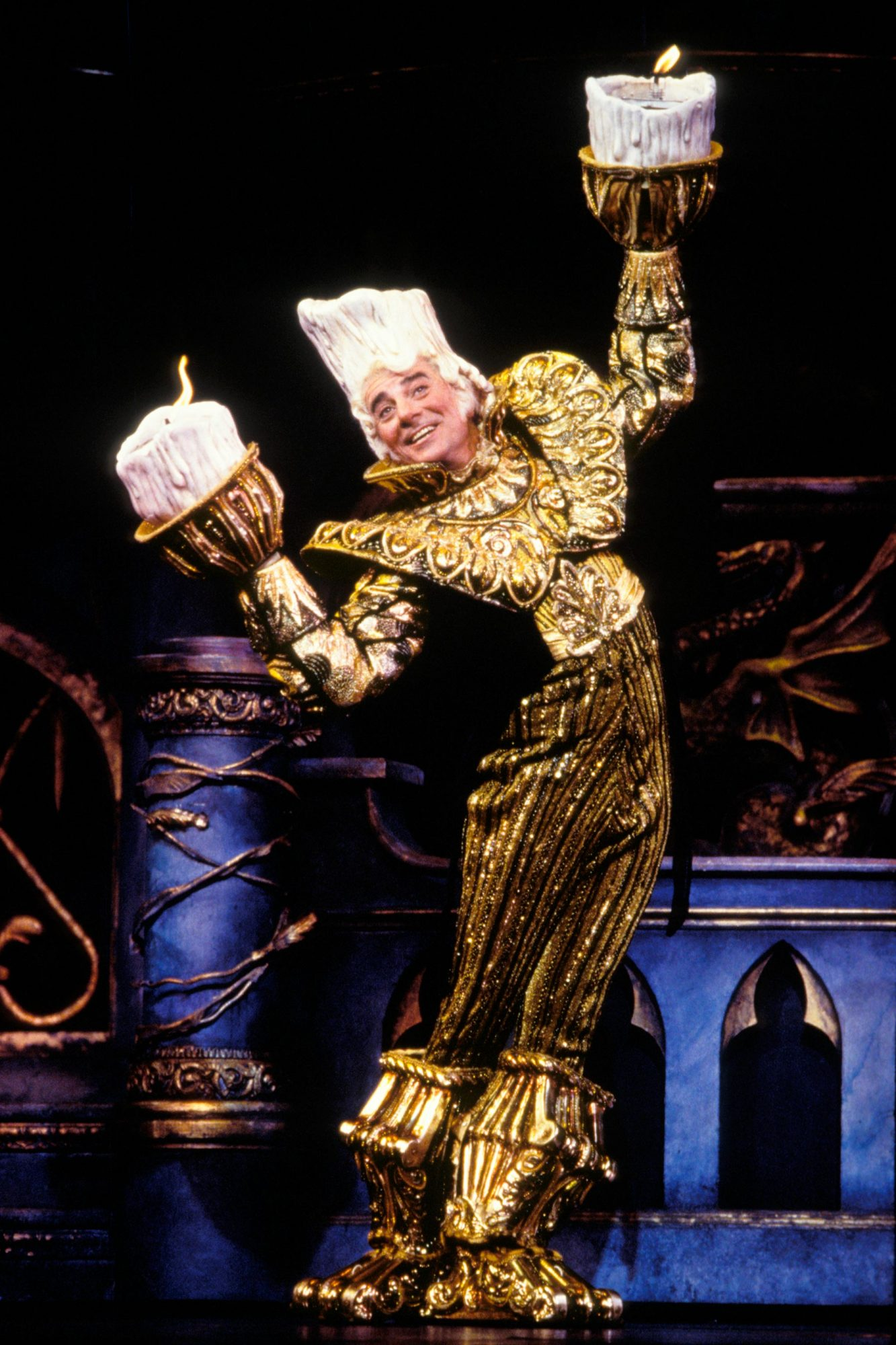 Beauty and the Beast(on Broadway - original 1993 cast)Gary Beach as Lumiere