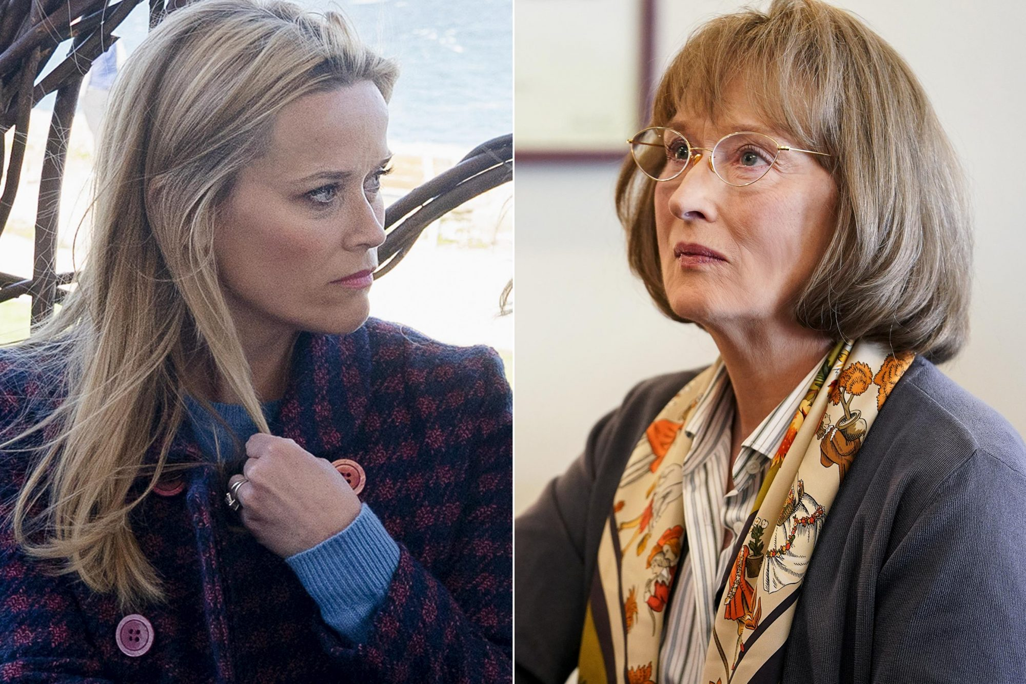 Big Little Lies Season 2 Reese Witherspoon photo: Jennifer Clasen/HBO Big Little Lies Season 2 Meryl Streep. photo: Jennifer Clasen/HBO