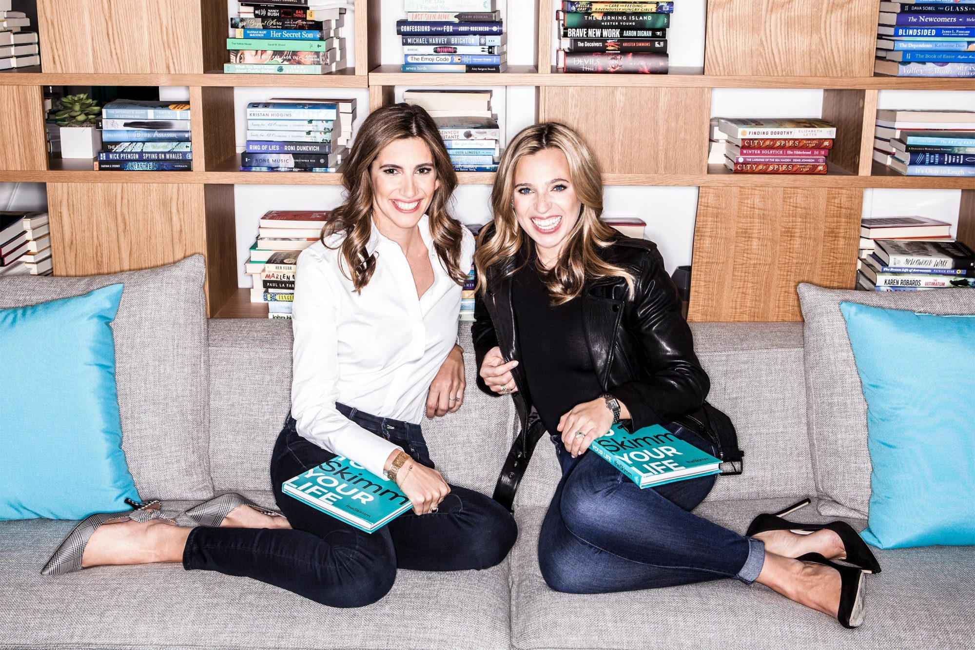 Co-founders of theSkimm, Danielle Weisberg and Carly Zakin author photo CR: Sharon Suh