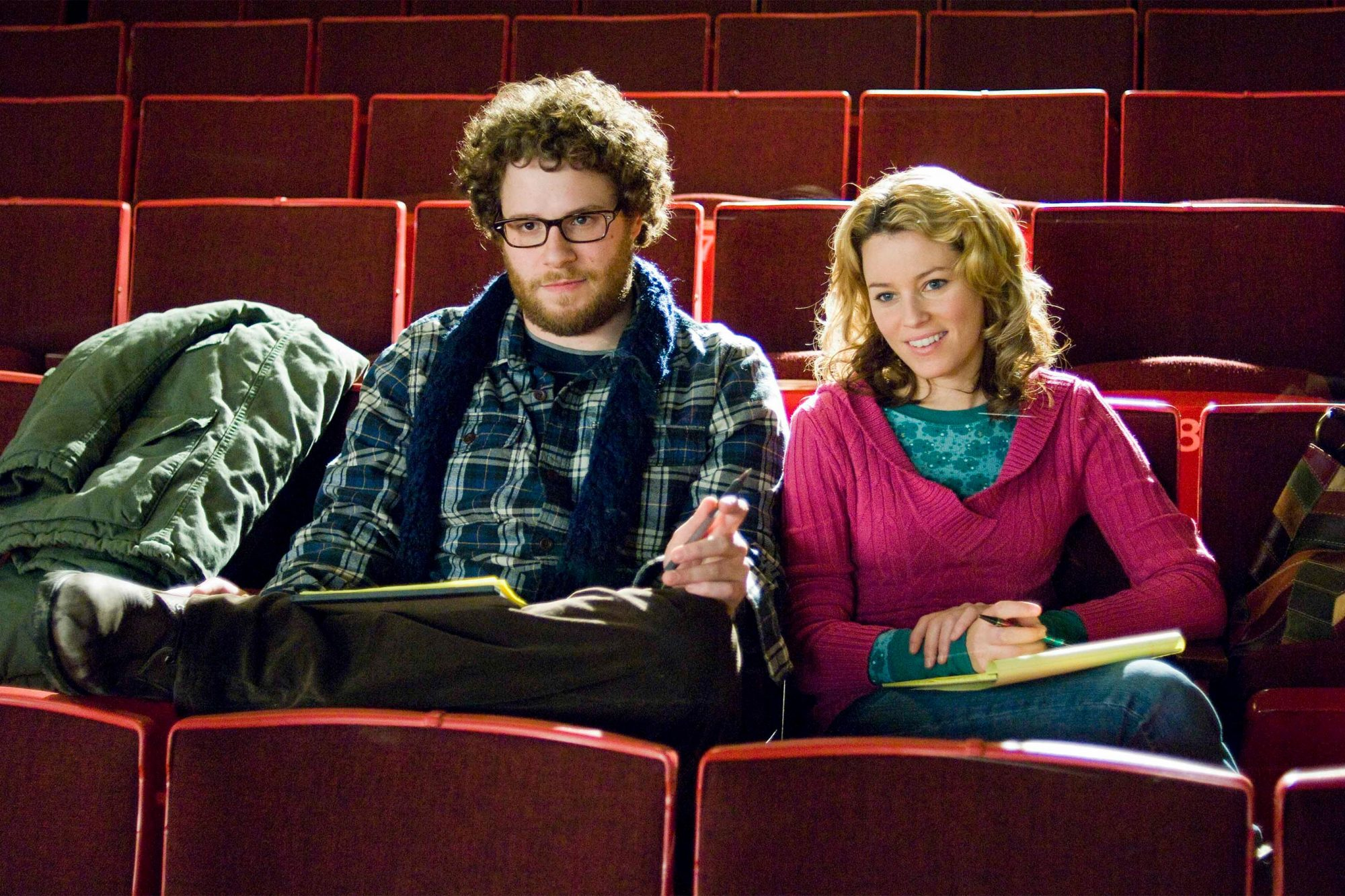 4. Seth Rogen and Elizabeth Banks in Zack and Miri Make a Porno (2008)