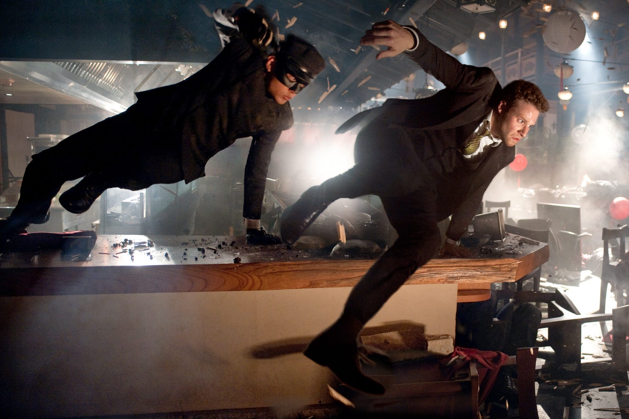 15. Seth Rogen and Jay Chou in The Green Hornet (2011)