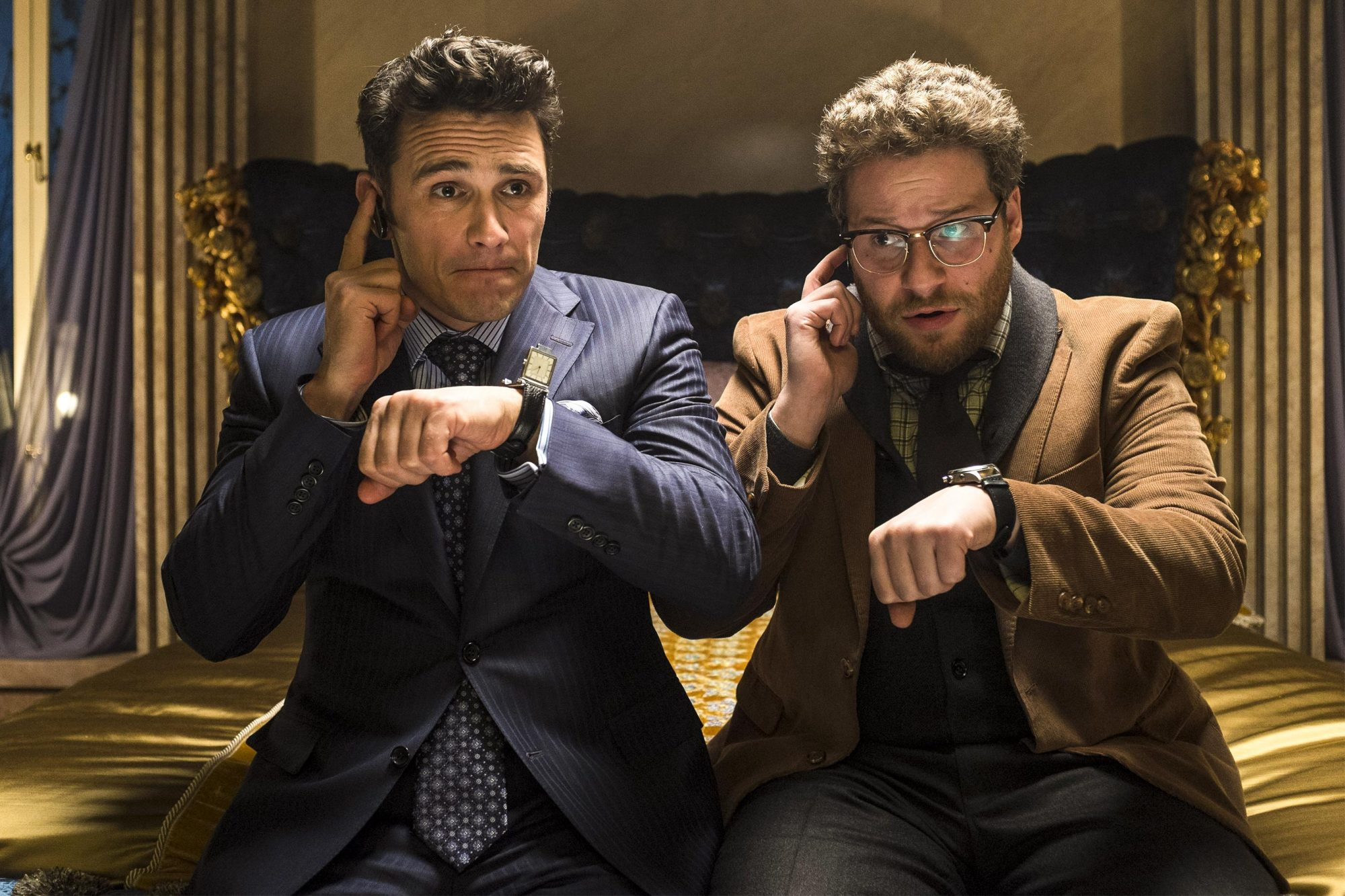 8. Seth Rogen and James Franco in The Interview (2014)