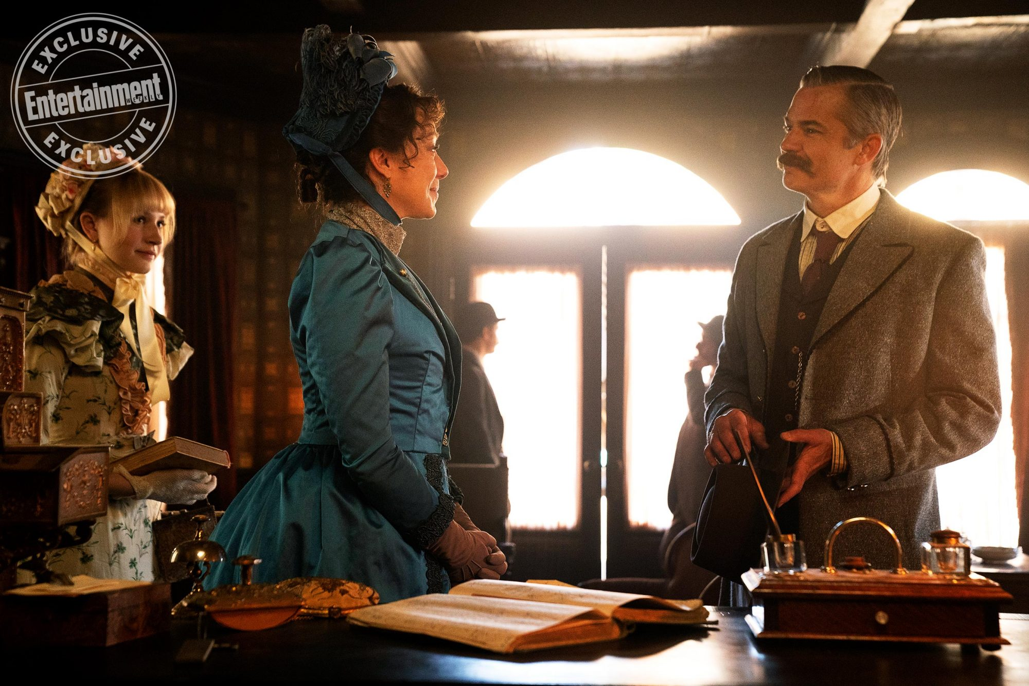 Deadwood: The MoviePictured: Lilly Keene, Molly Parker, Timothy Olyphant