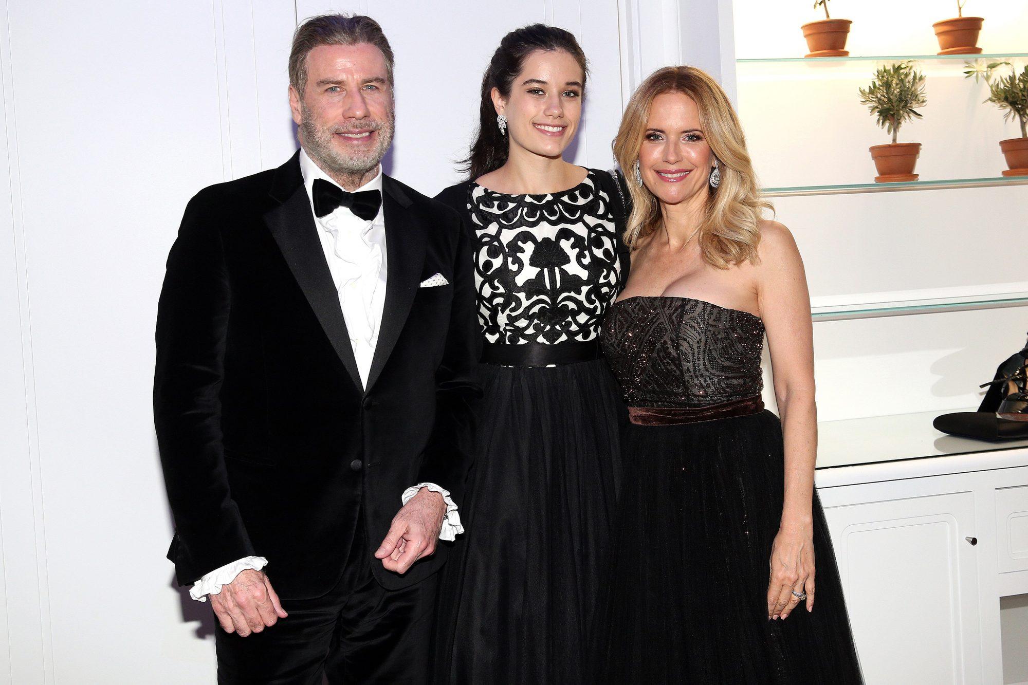 John Travolta, Kelly Preston, Ella Bleu Travolta