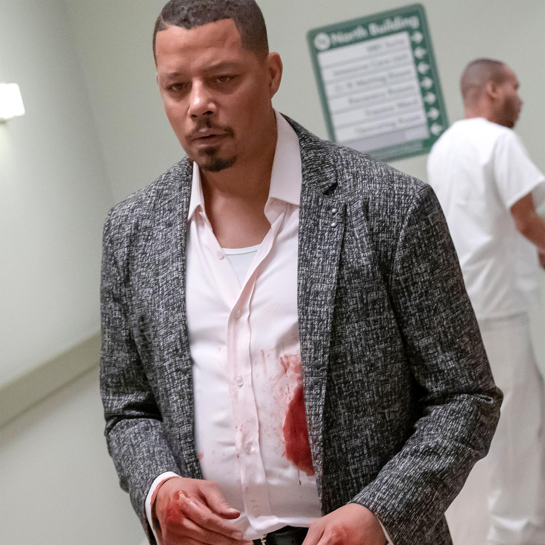 "EMPIRE: Terrence Howard in the ""The Roughest Day"" Season Five finale episode of EMPIRE airing Wednesday, May 8 (8:00-9:00 PM ET/PT) on FOX. ©2019 Fox Media LLC CR: Chuck Hodes/FOX."