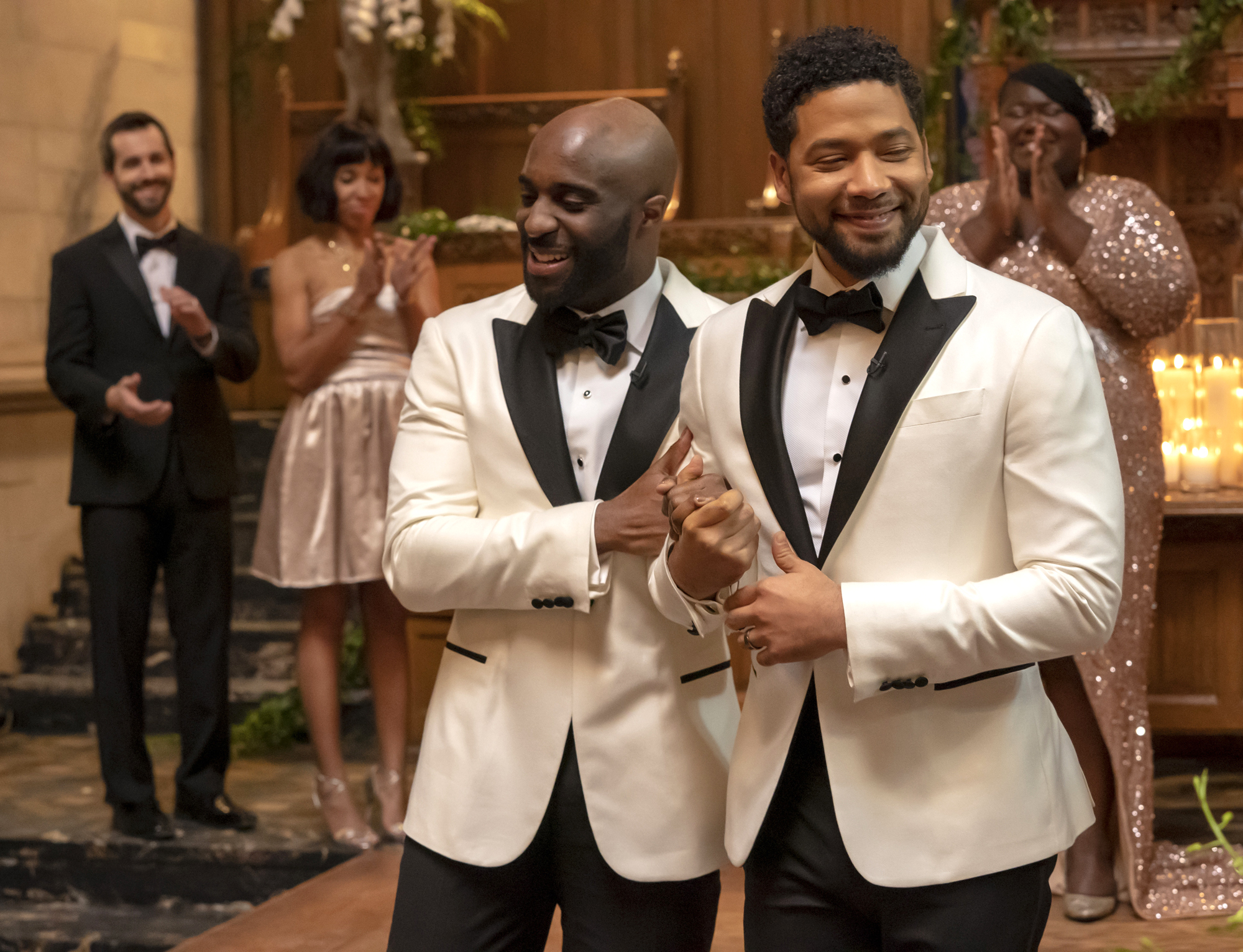 Toby Onwumere and Jussie Smollett