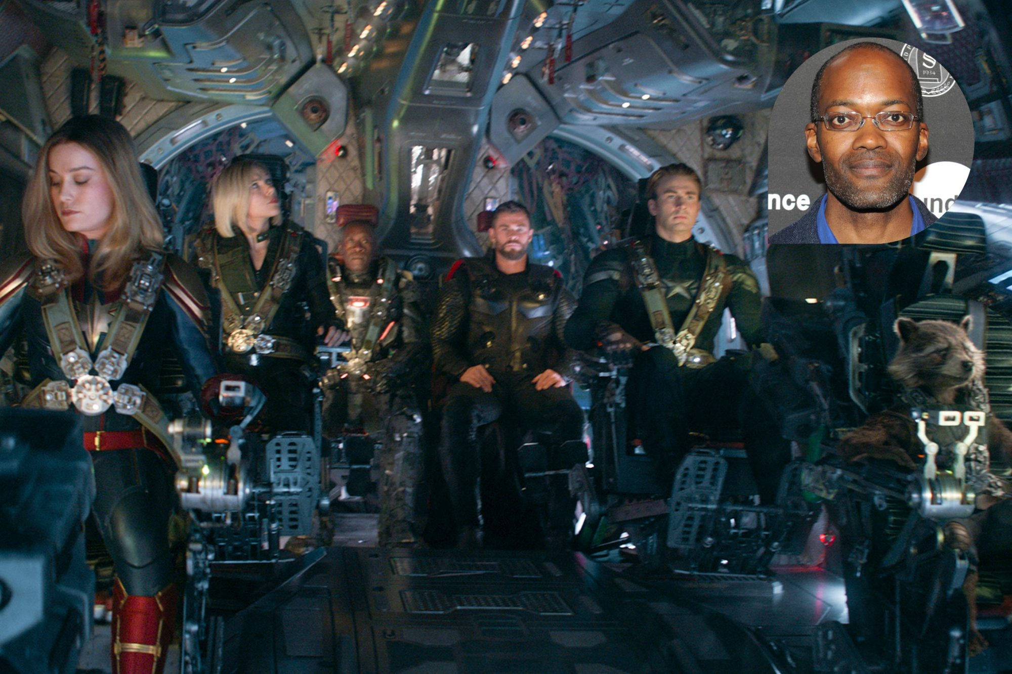 Marvel Studios' AVENGERS: ENDGAME..L to R: Captain Marvel/Carol Danvers (Brie Larson), Black Widow/Natasha Romanoff (Scarlett Johansson), War Machine/James Rhodey (Don Cheadle), Thor (Chris Hemsworth), Captain America/Steve Rogers (Chris Evans) and Rocket (voiced by Bradley Cooper)..Photo: Film Frame..©Marvel Studios 2019 PARK CITY, UT - JANUARY 26: Clifford Johnson attends the Alfred P. Sloan Foundation Reception and Prize Announcement during the 2016 Sundance Film Festival at High West Distillery on January 26, 2016 in Park City, Utah. (Photo by Sonia Recchia/Getty Images for Sundance Film Festival)