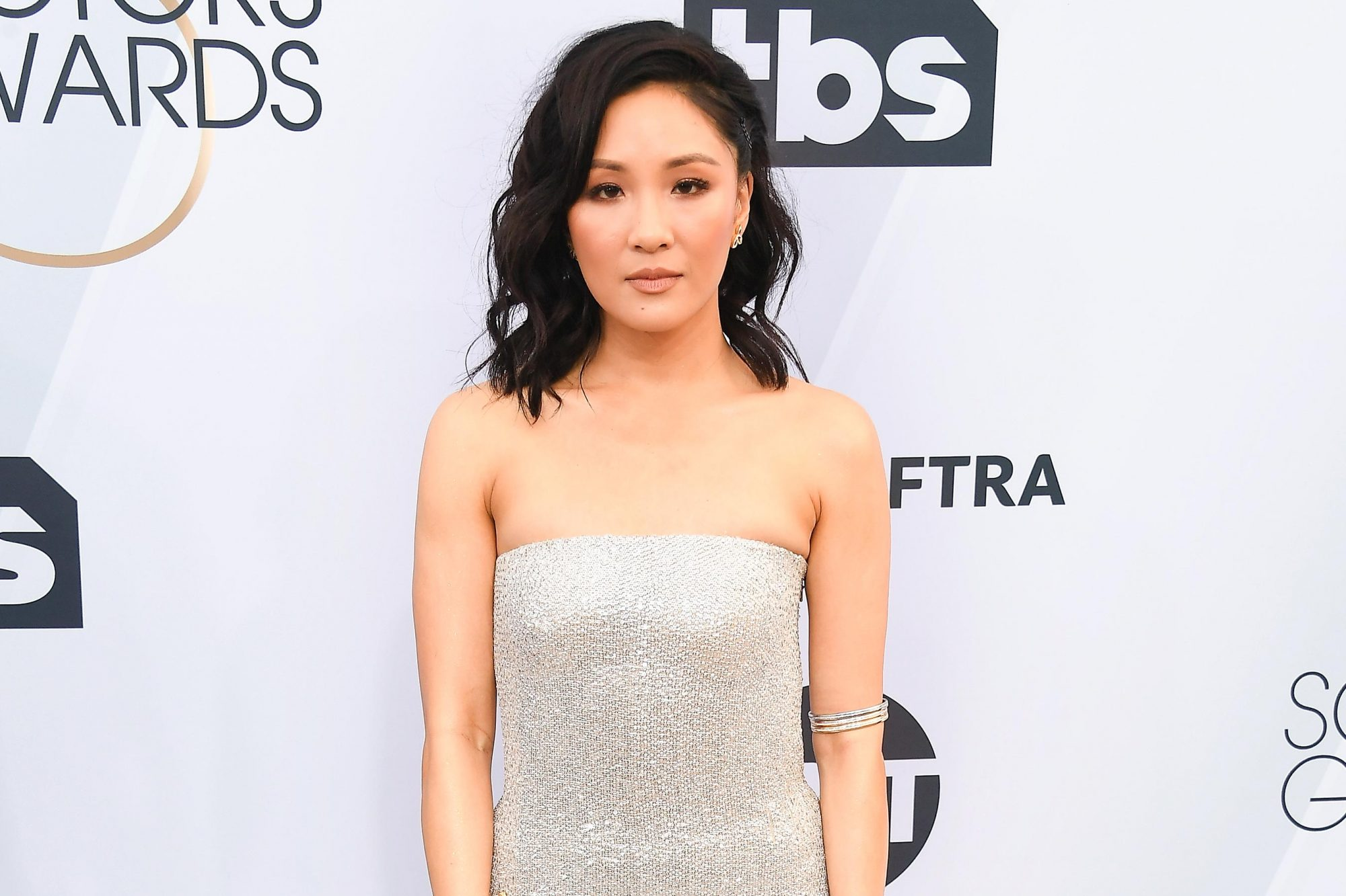 LOS ANGELES, CA - JANUARY 27: Constance Wu attends the 25th Annual Screen ActorsGuild Awards at The Shrine Auditorium on January 27, 2019 in Los Angeles, California. (Photo by Steve Granitz/WireImage)