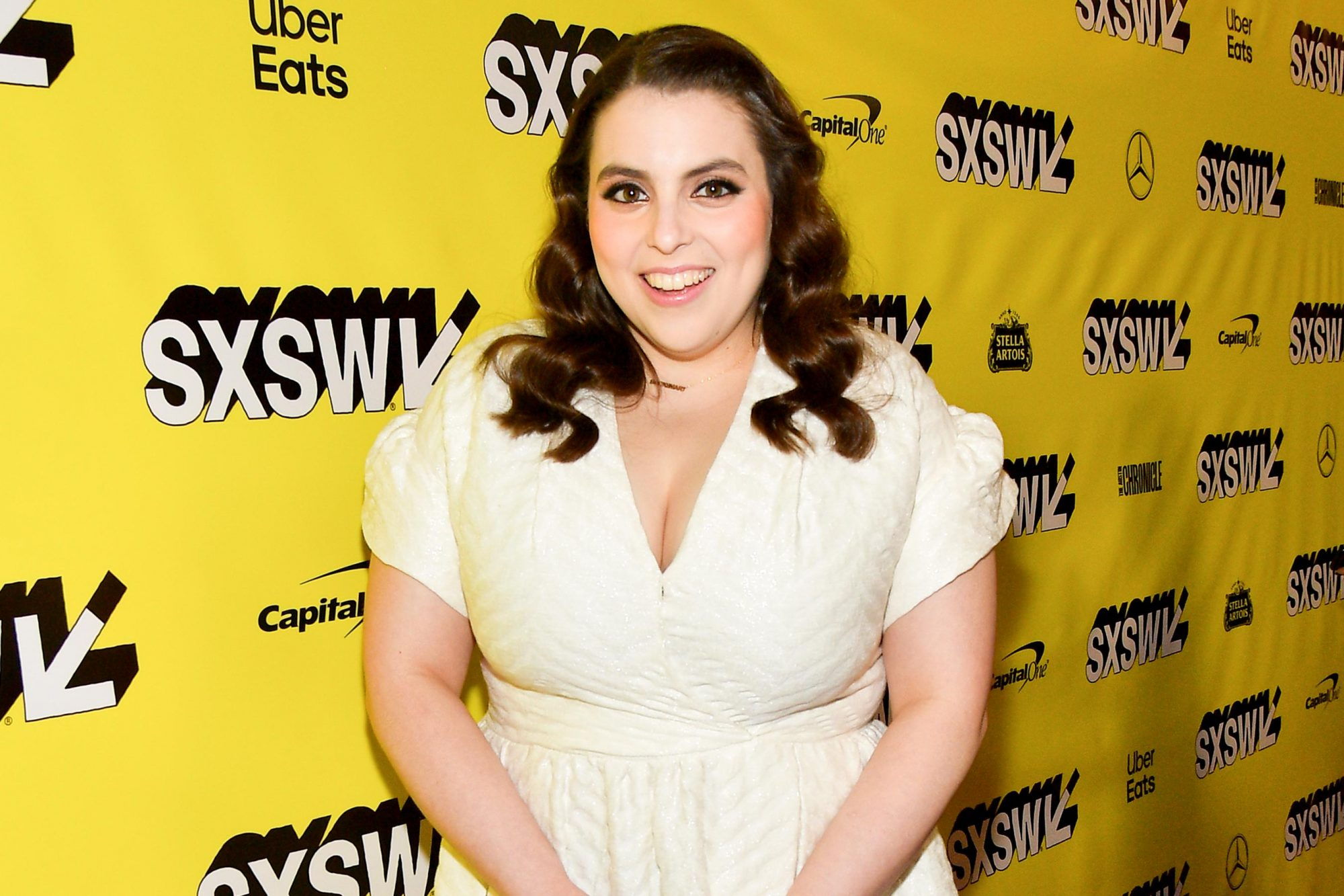 "AUSTIN, TEXAS - MARCH 10: Beanie Feldstein attends the ""Booksmart"" Premiere - 2019 SXSW Conference and Festivals at Paramount Theatre on March 10, 2019 in Austin, Texas. (Photo by Matt Winkelmeyer/Getty Images for SXSW)"