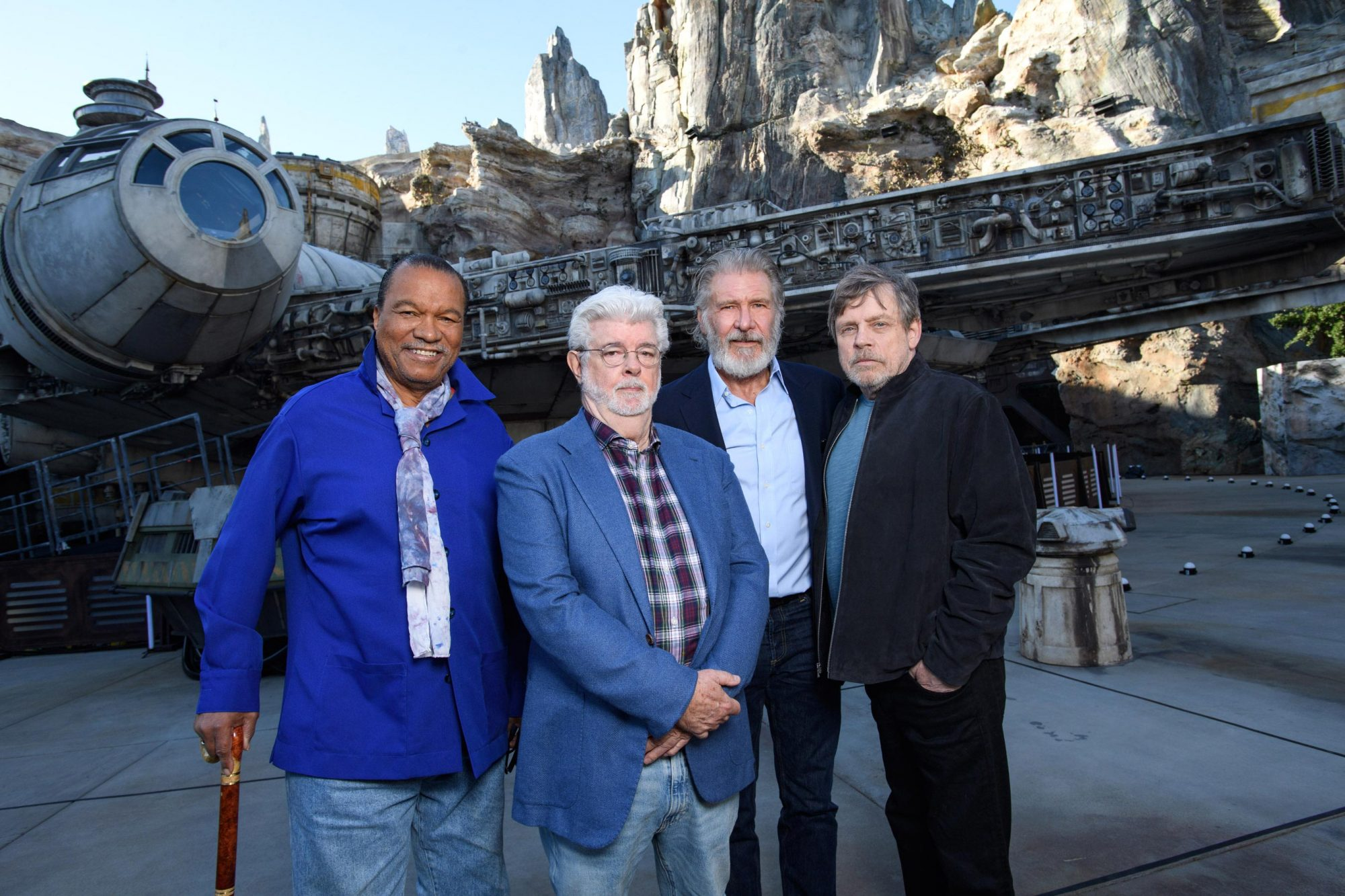 The Launch of Star Wars: Galaxy's Edge at Disneyland