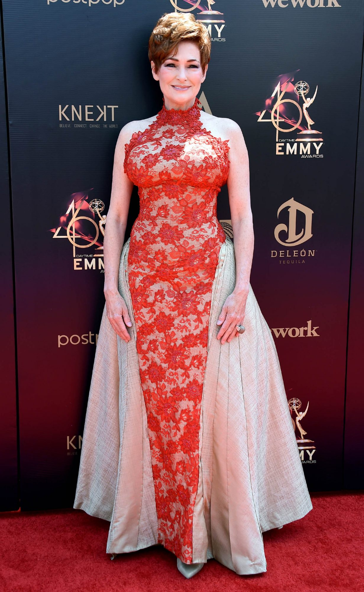 Carolyn Hennesy attends the 46th annual Daytime Emmy Awards