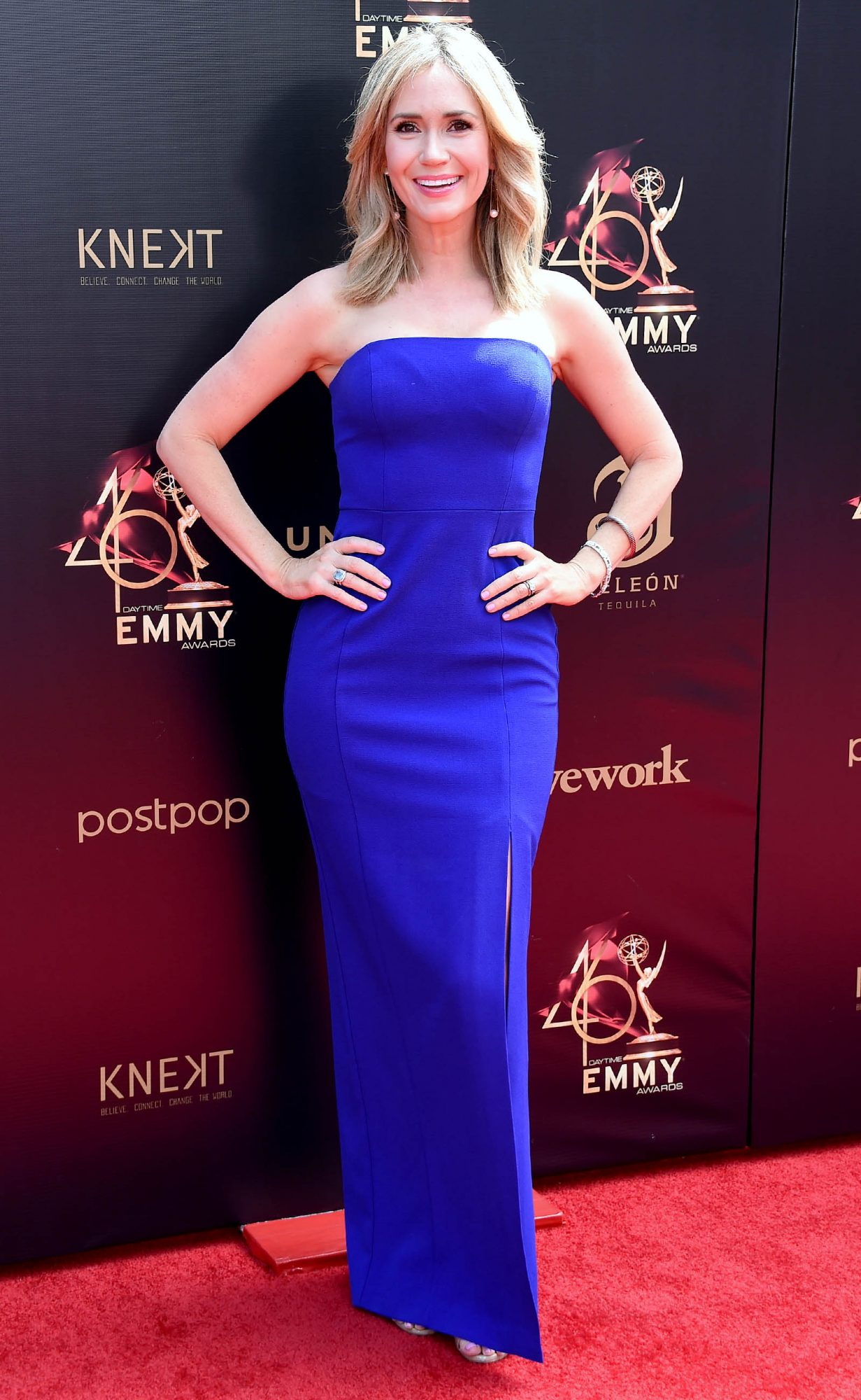 Ashley Jones attends the 46th annual Daytime Emmy Awards