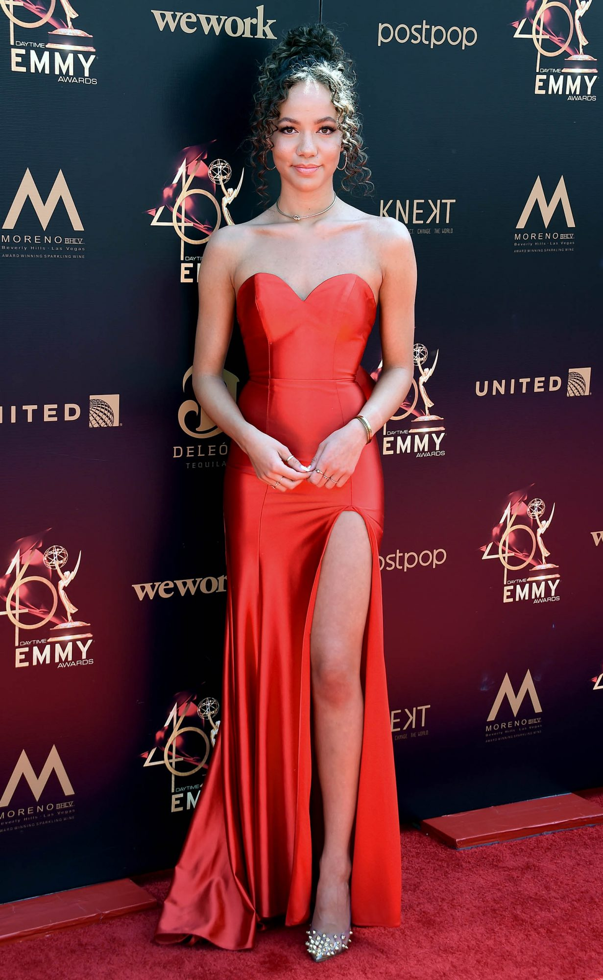 Lexie Stevenson attends the 46th annual Daytime Emmy Awards