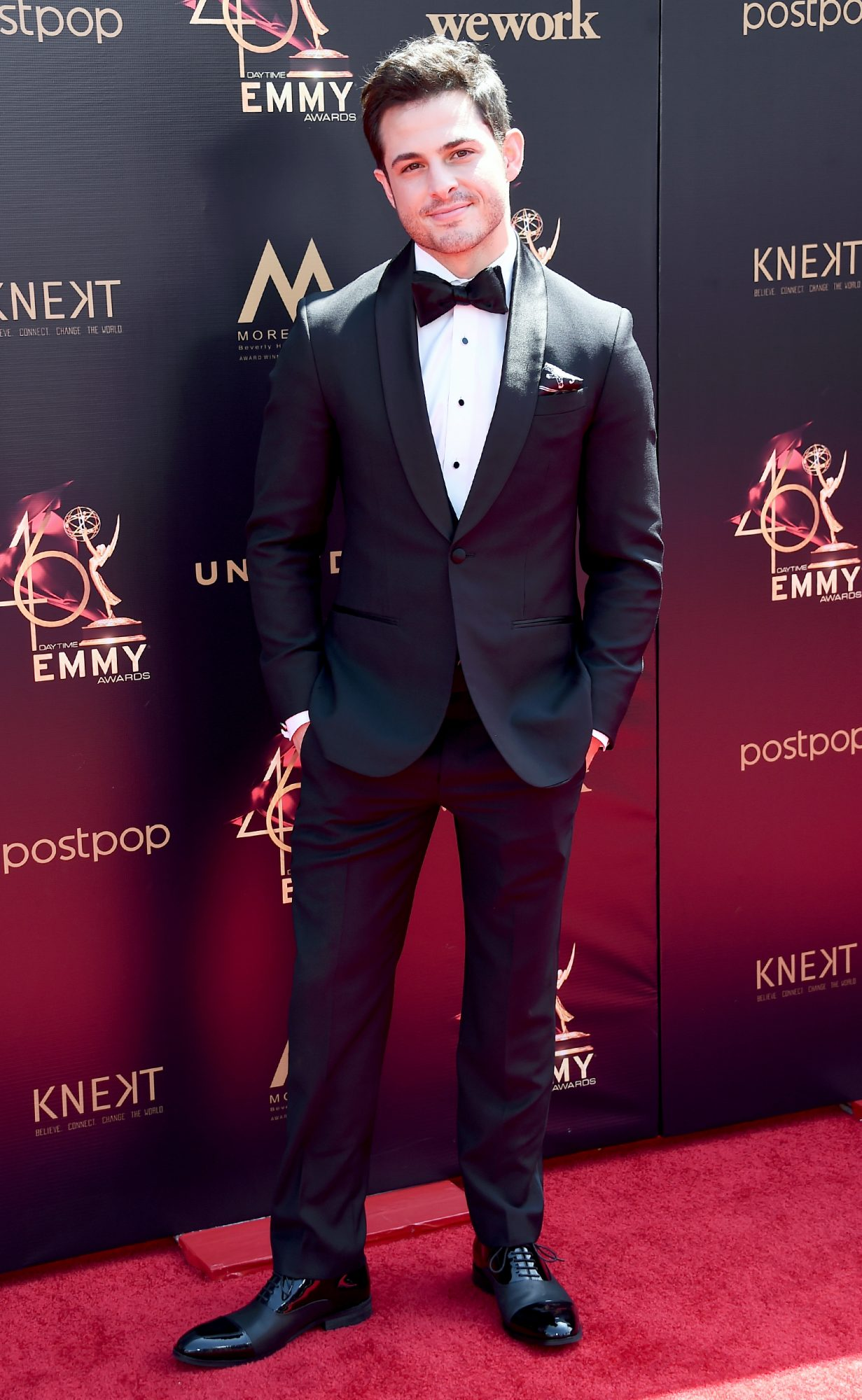 Zach Tinker attends the 46th annual Daytime Emmy Awards