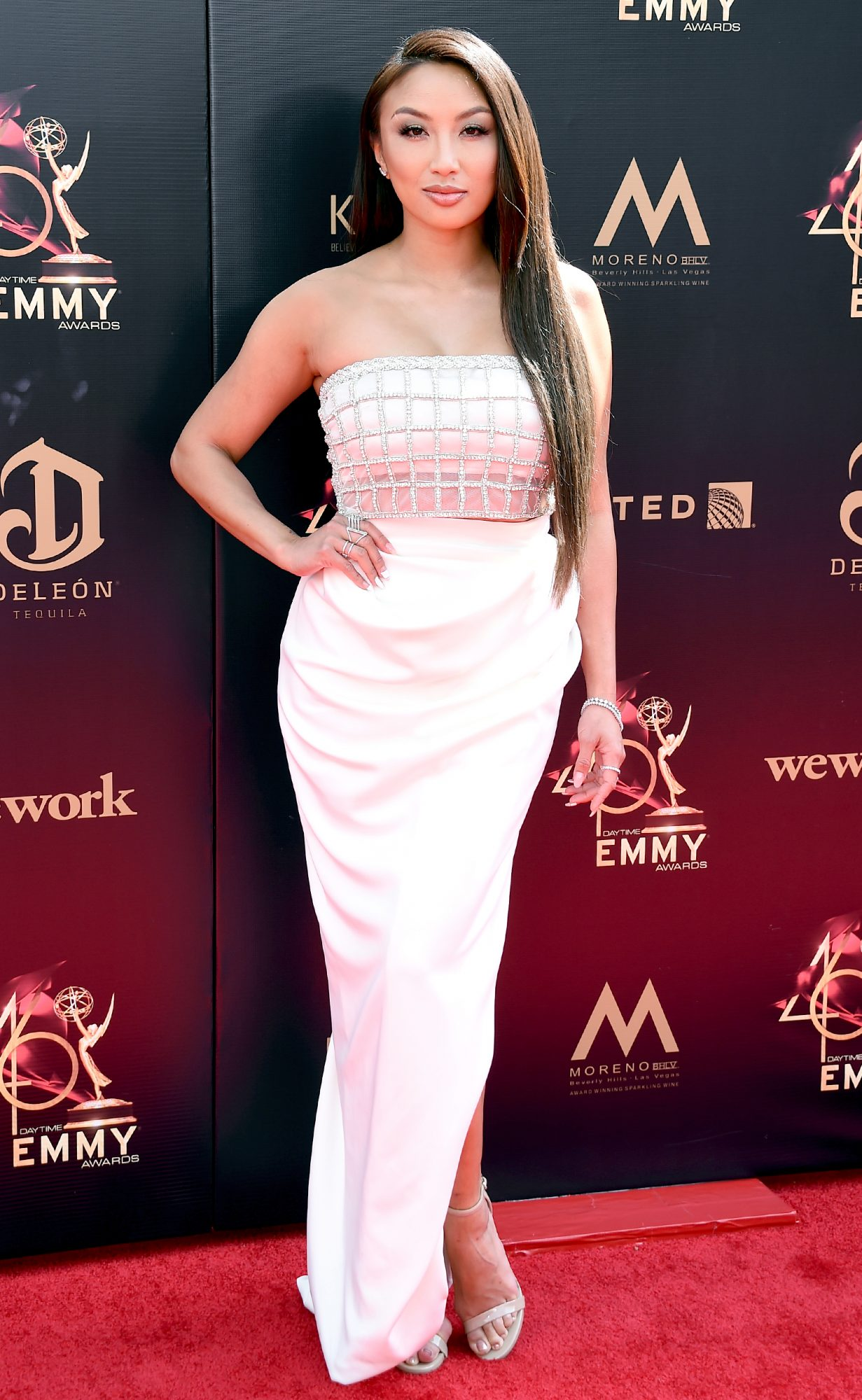 Jeannie Mai attends the 46th annual Daytime Emmy Awards
