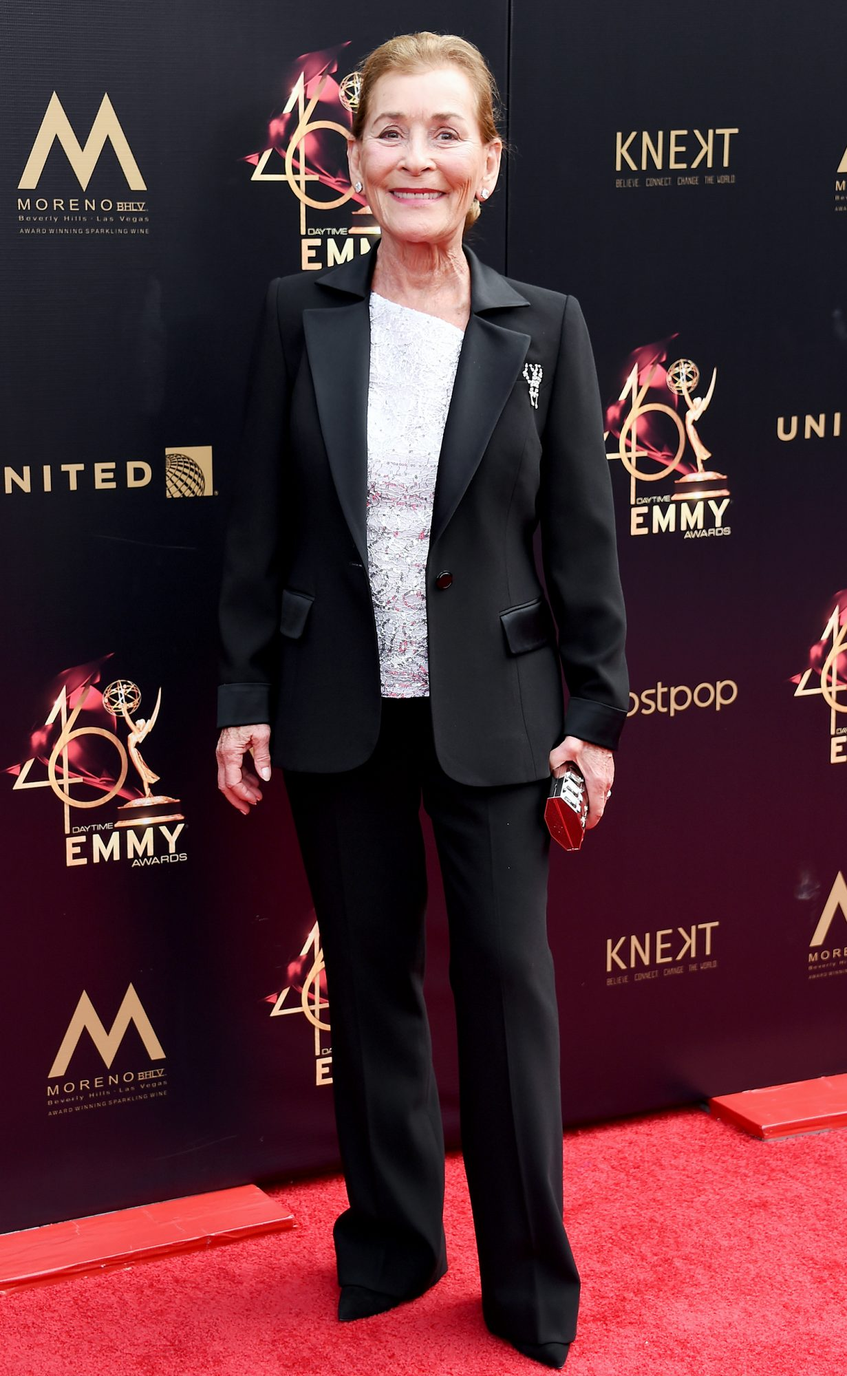 Judge Judy attends the 46th annual Daytime Emmy Awards