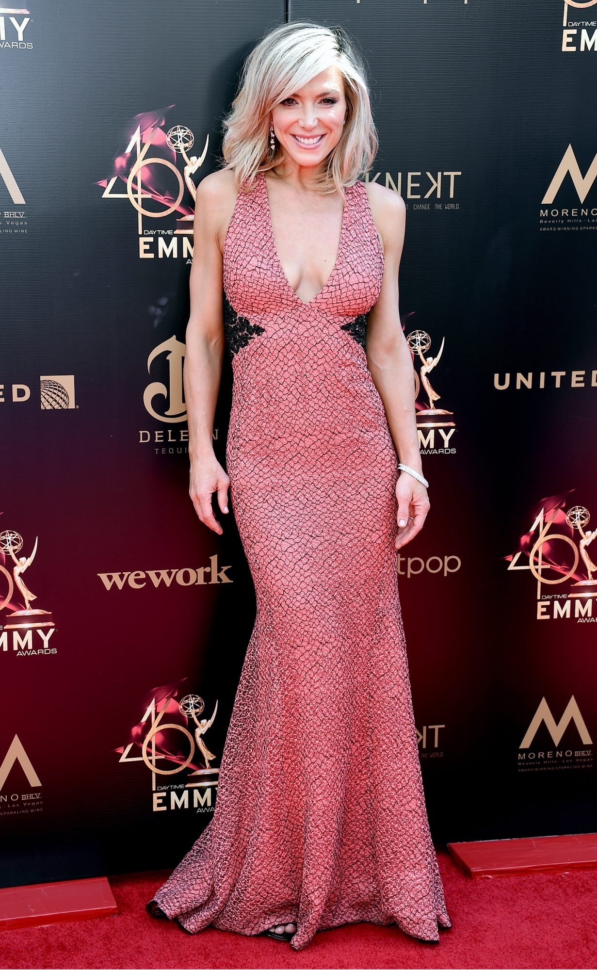 Debbie Matenopoulos attends the 46th annual Daytime Emmy Awards
