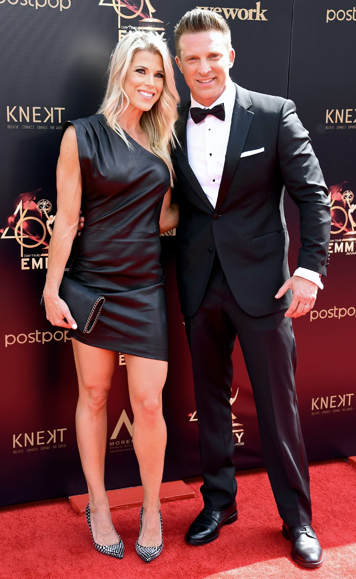 Sheree Gustin and Steve Burton attend the 46th annual Daytime Emmy Awards