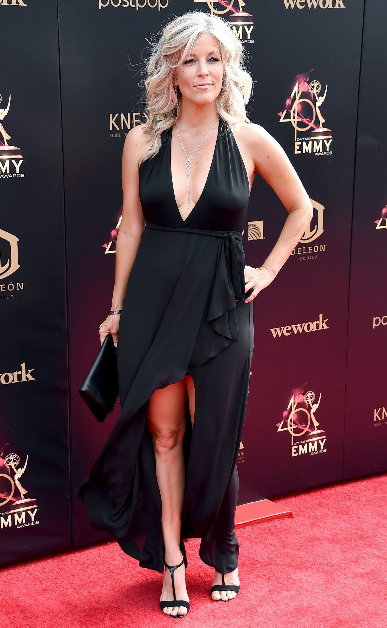 Laura Wright attends the 46th annual Daytime Emmy Awards