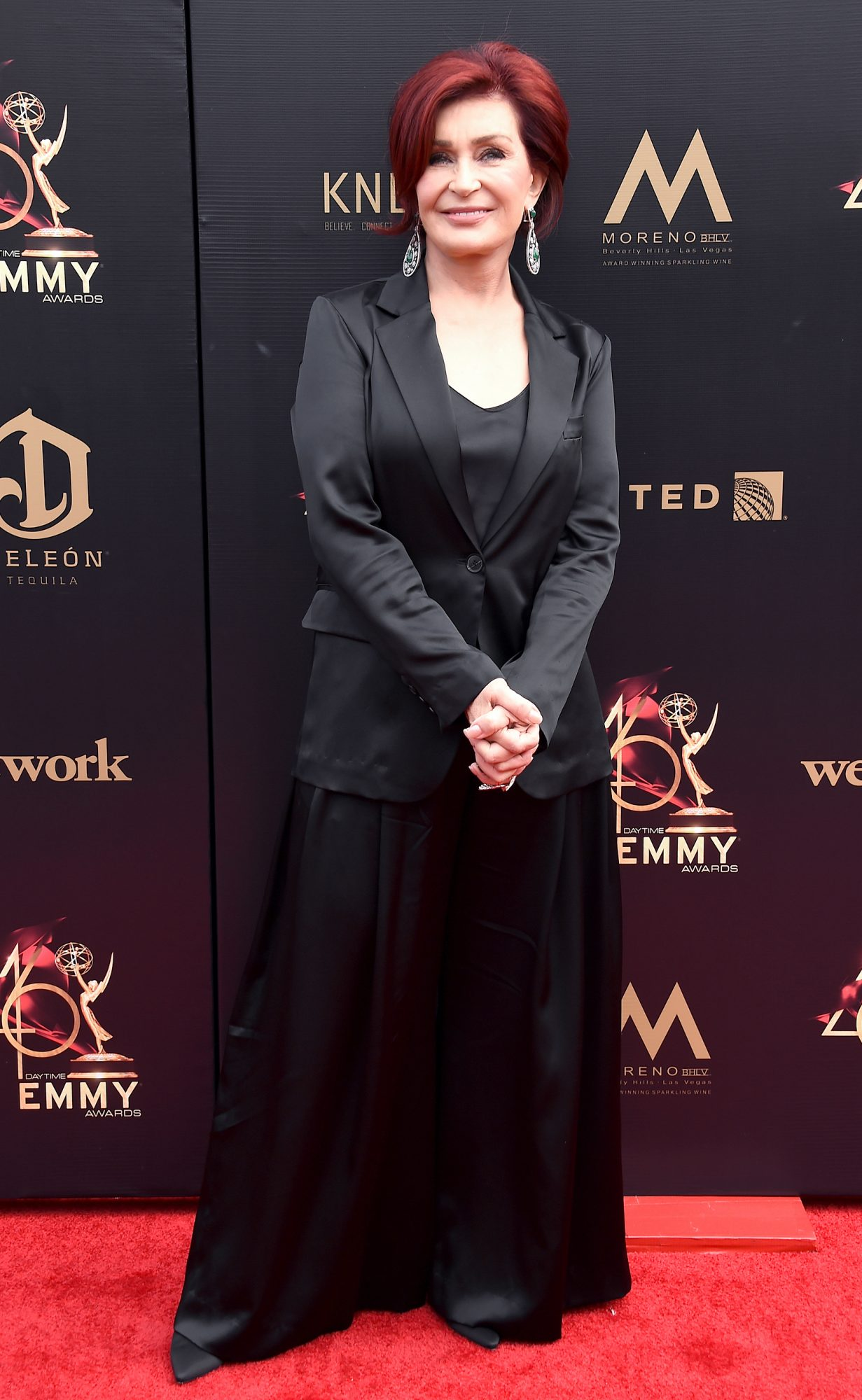 Sharon Osbourne attends the 46th annual Daytime Emmy Awards