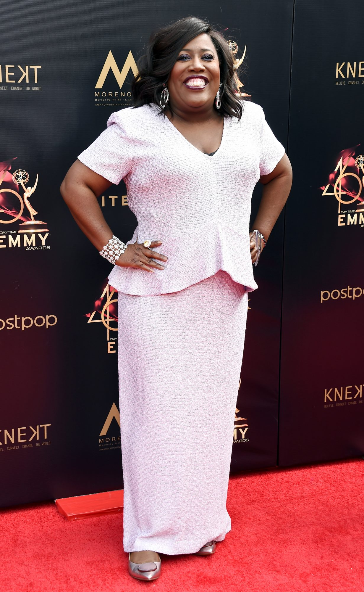 Sheryl Underwood attends the 46th annual Daytime Emmy Awards