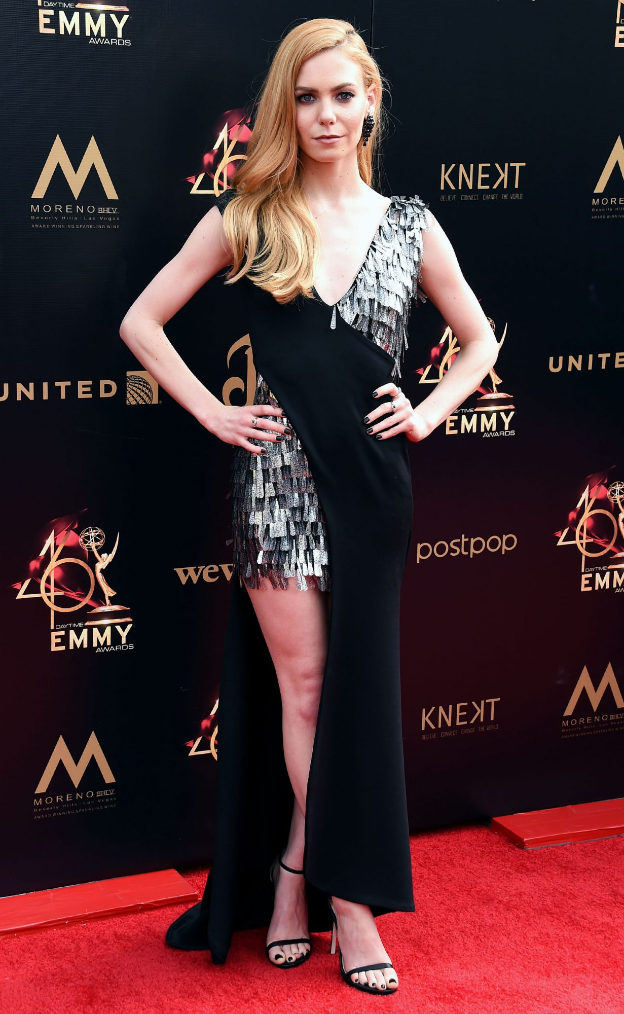 Chloe Lanier attends the 46th annual Daytime Emmy Awards