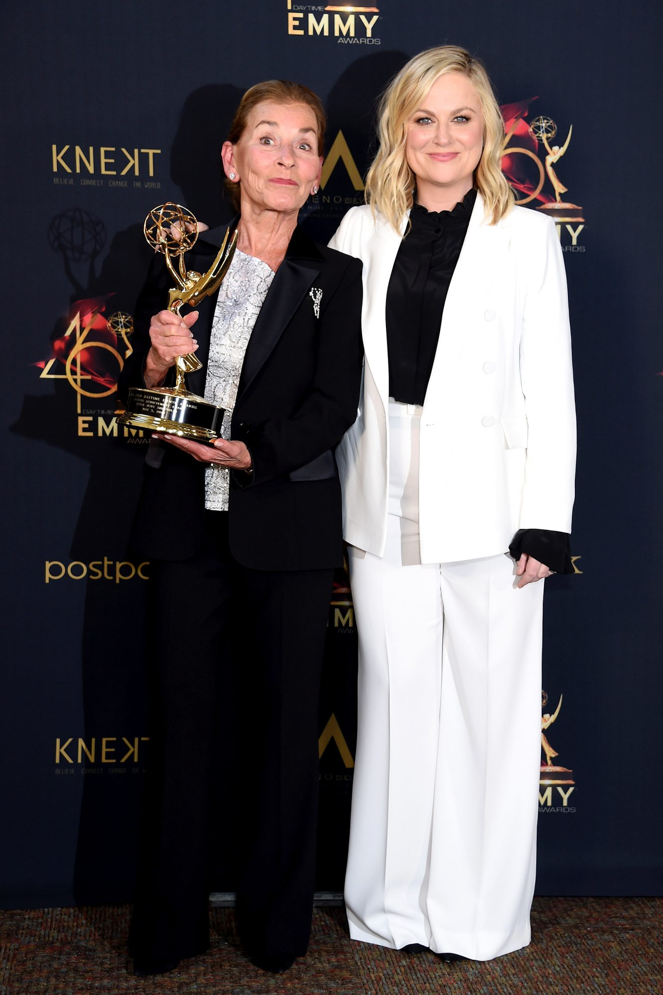 Judge Judy and Amy Poehler