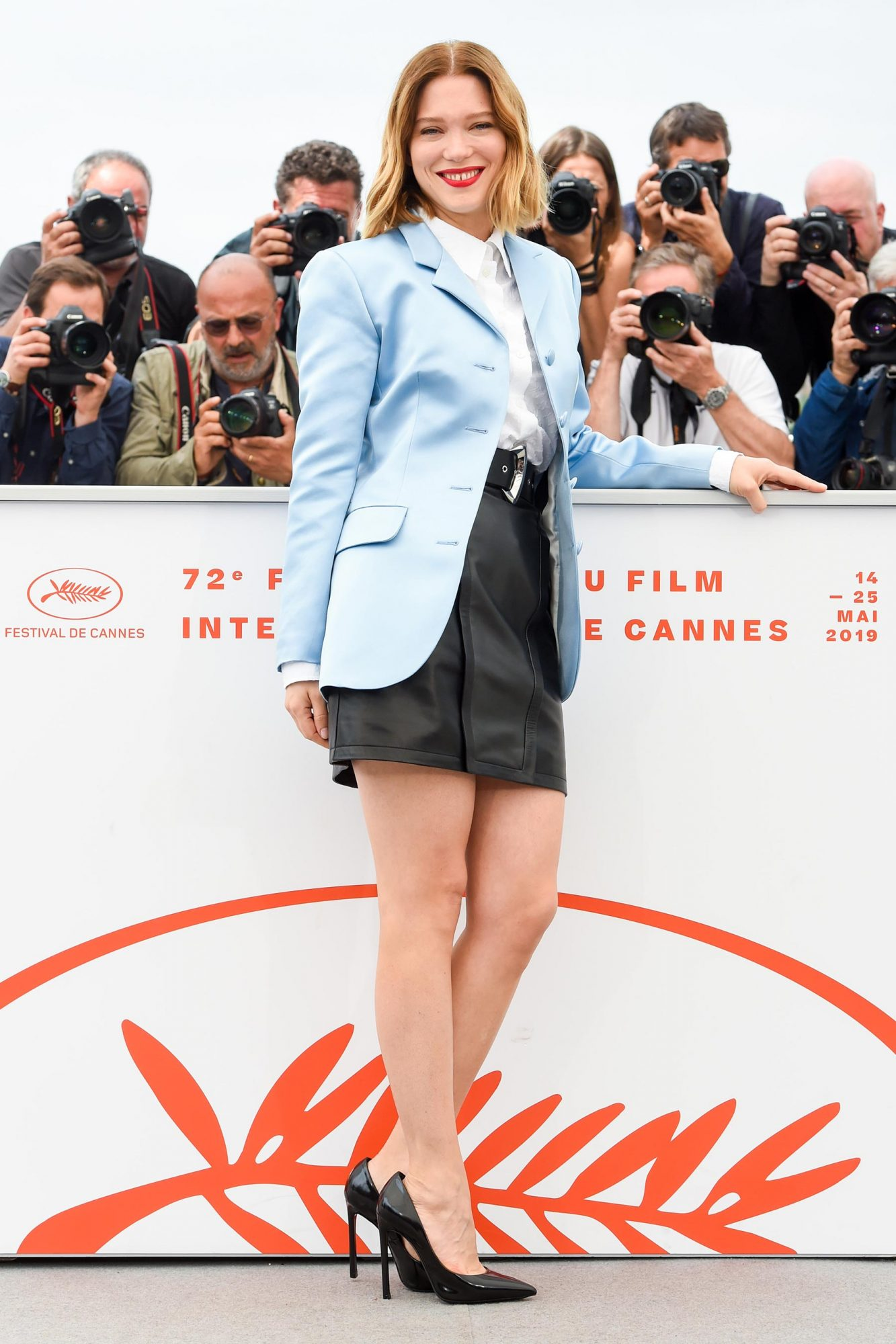 """""""Oh Mercy! (Roubaix, une Lumiere)""""Photocall - The 72nd Annual Cannes Film Festival"""