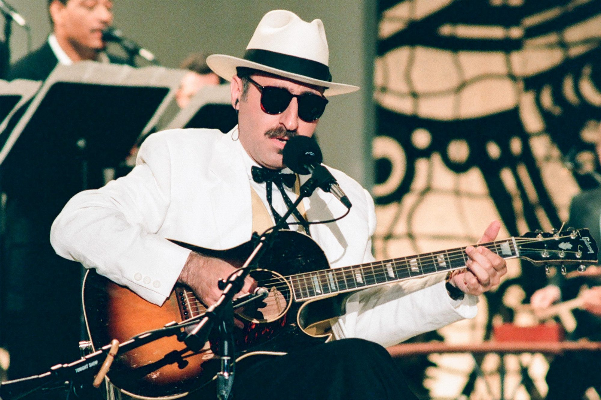 THE TONIGHT SHOW WITH JAY LENO -- Episode 518 -- Pictured: Musical guest Leon Redbone performs on August 12, 1994-- (Photo by: Margaret Norton/NBC/NBCU Photo Bank via Getty Images)