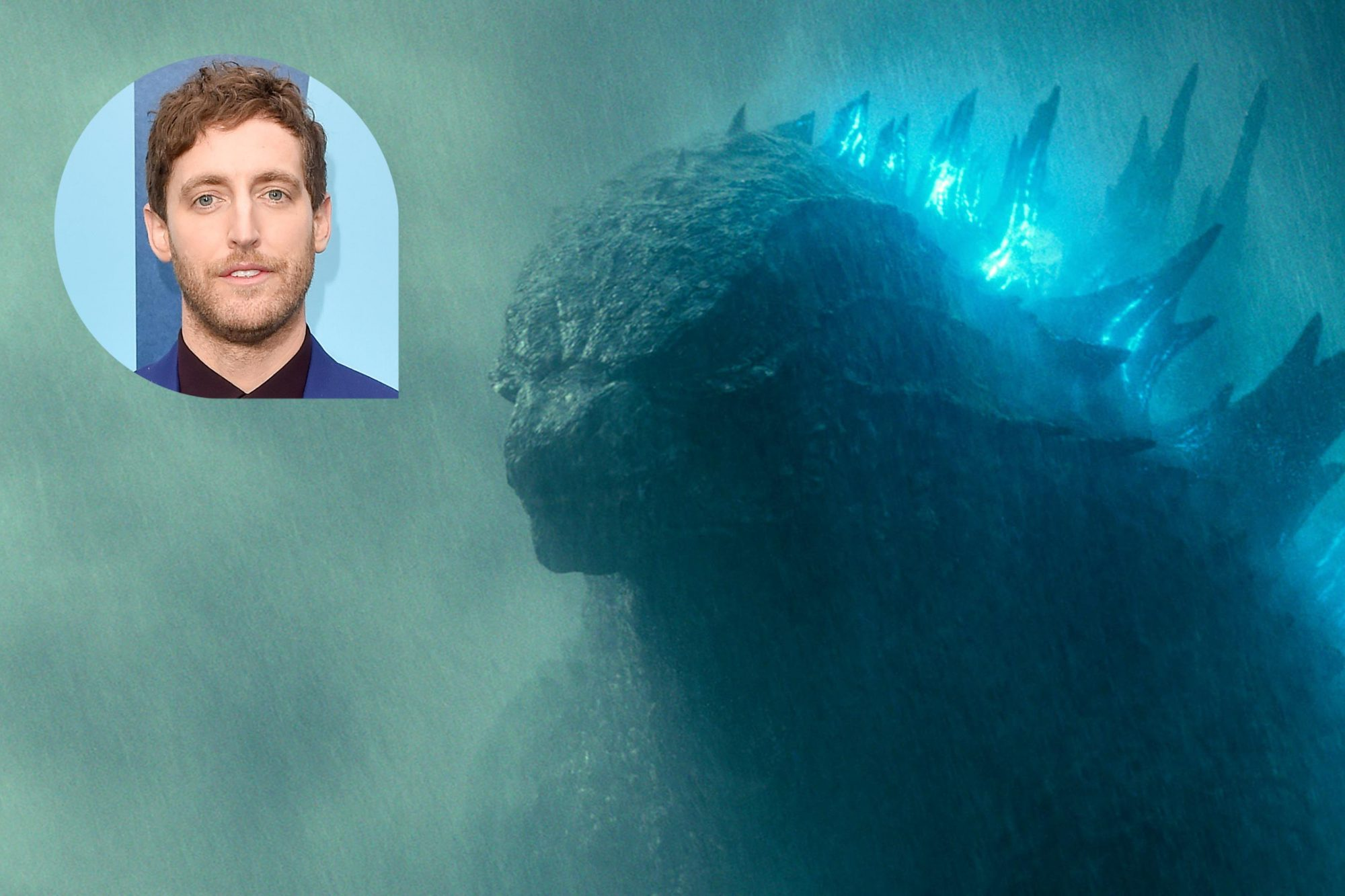 "GODZILLA: KING OF THE MONSTERS Copyright: © 2019 WARNER BROS. ENTERTAINMENT INC. AND LEGENDARY PICTURES PRODUCTIONS, LLC Photo Credit: Courtesy of Warner Bros. Pictures Caption: GODZILLA in Warner Bros. Pictures' and Legendary Pictures' action adventure ""GODZILLA: KING OF THE MONSTERS,"" a Warner Bros. Pictures release. HOLLYWOOD, CALIFORNIA - MAY 18: Thomas Middleditch attends the premiere of Warner Bros. Pictures and Legendary Pictures' ""Godzilla: King of the Monsters"" at TCL Chinese Theatre on May 18, 2019 in Hollywood, California. (Photo by Axelle/Bauer-Griffin/FilmMagic)"