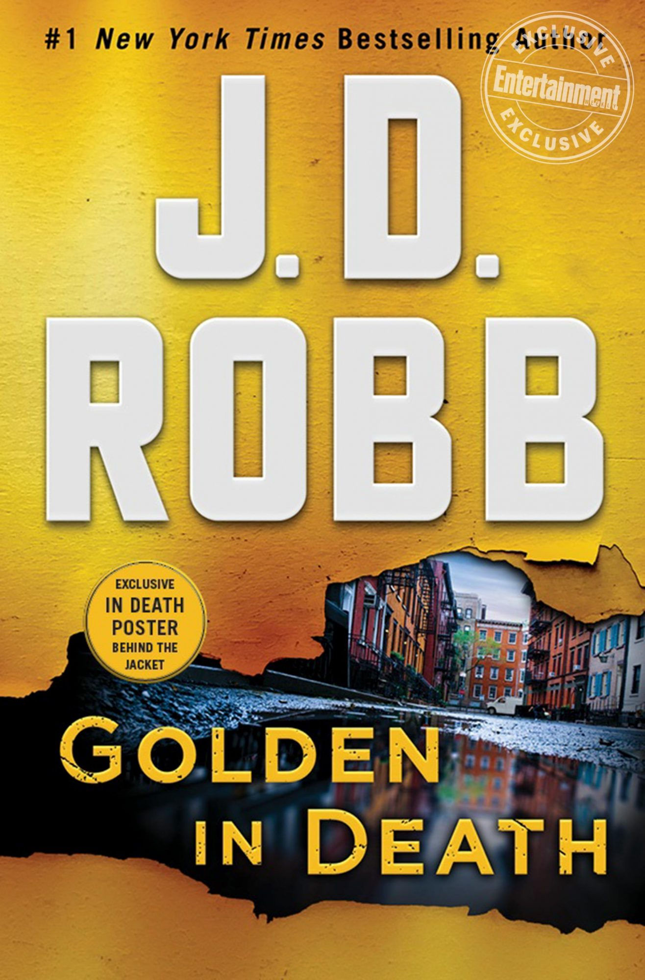 Golden In Death by J.D. Robb CR: St. Martin's Press