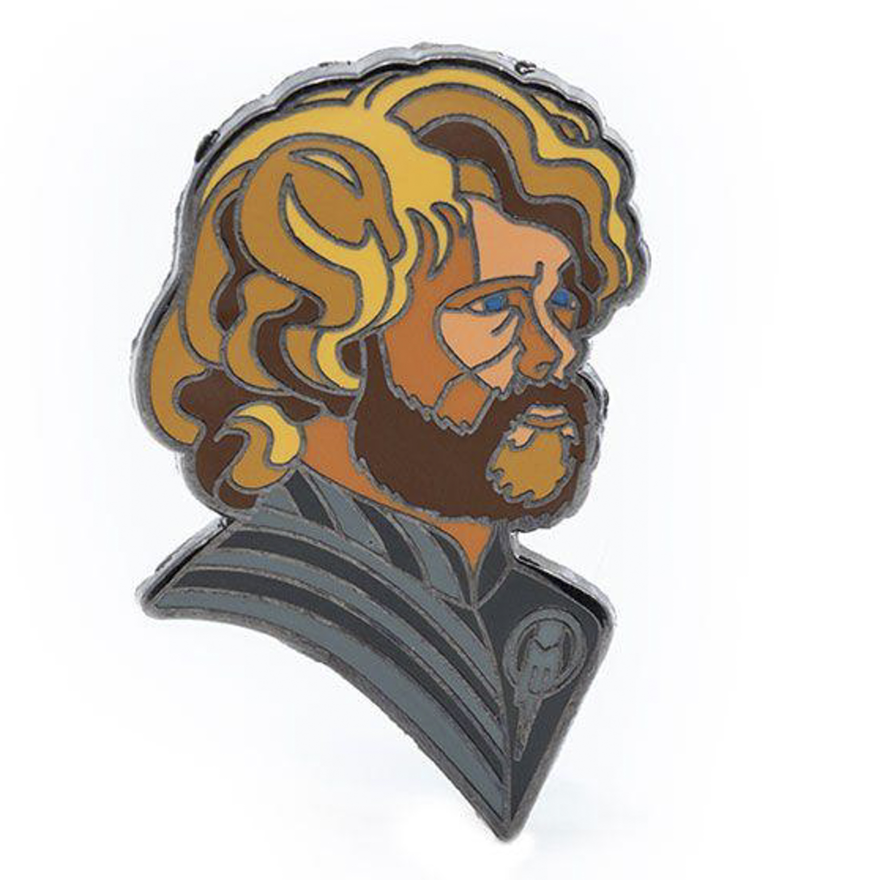 Robert Ball Tyrion Pin from Game of Thrones https://shop.hbo.com/products/robert-ball-tyrion-pin-from-game-of-thrones CR: HBO Shop