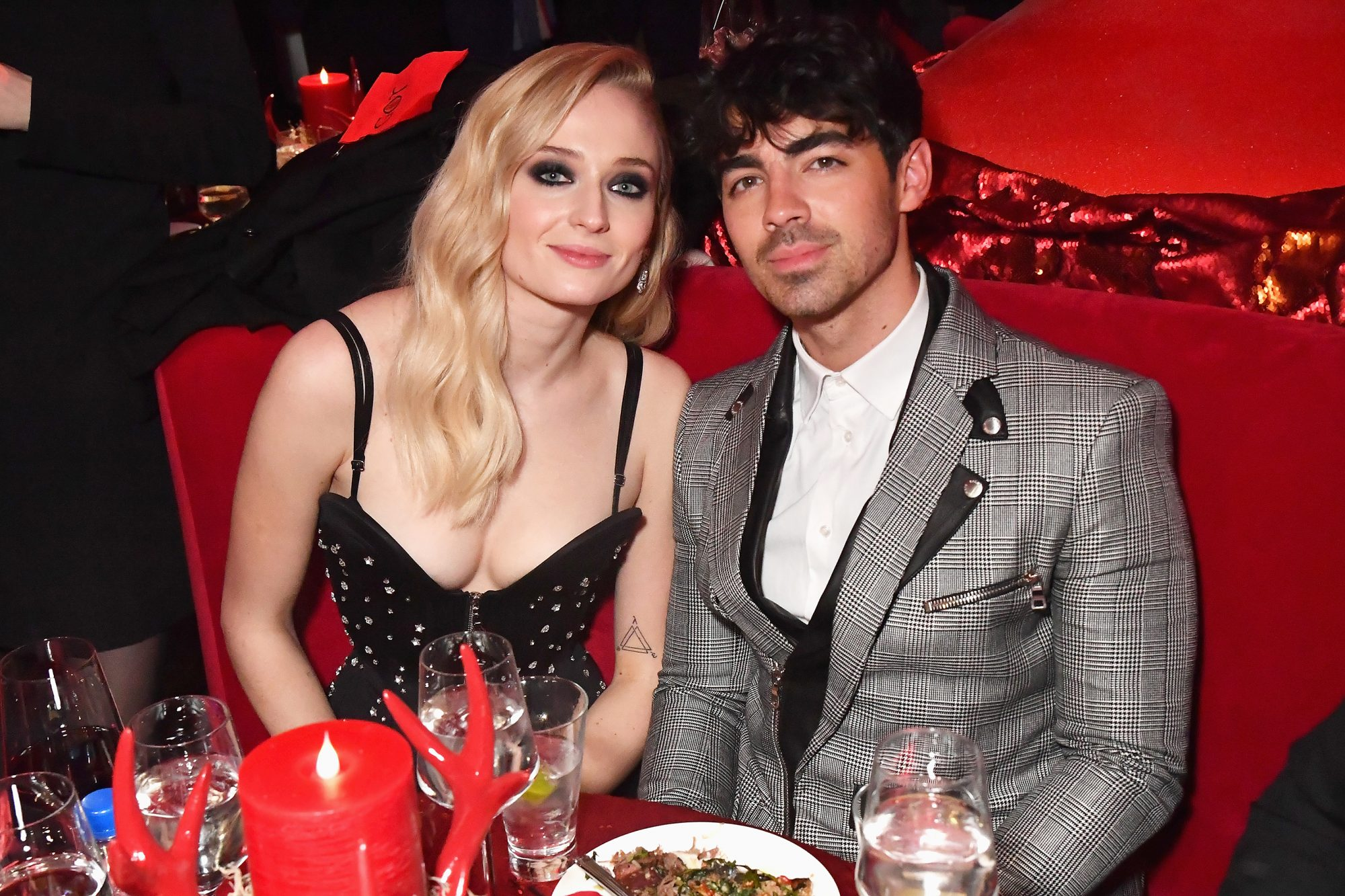 "NEW YORK, NY - APRIL 03: Sophie Turner and Joe Jonas attend the ""Game Of Thrones"" Season 8 NY Premiere After Party on April 3, 2019 in New York City. (Photo by Jeff Kravitz/FilmMagic for HBO)"