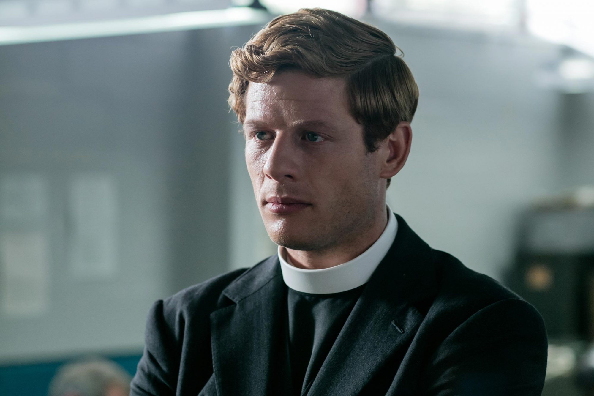 Rev. Sidney Chambers (James Norton) on Grantchester