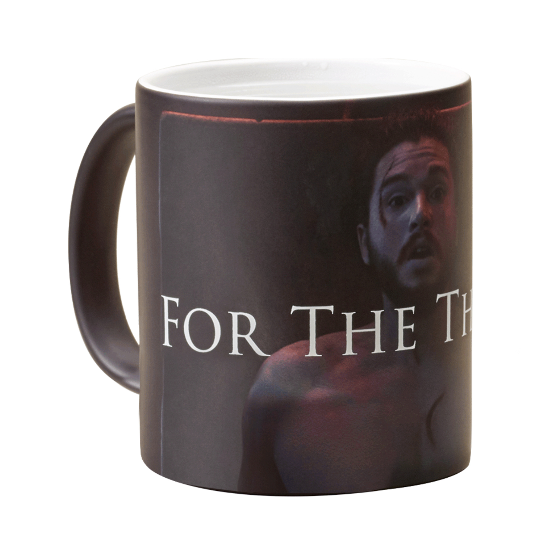 Game of Thrones Giveaway For the Throne Jon Snow Heat Transforming Mug from Game of Thrones CR: https://shop.hbo.com/products/for-the-throne-jon-transforming-mug-from-game-of-thrones CR: HBO Shop