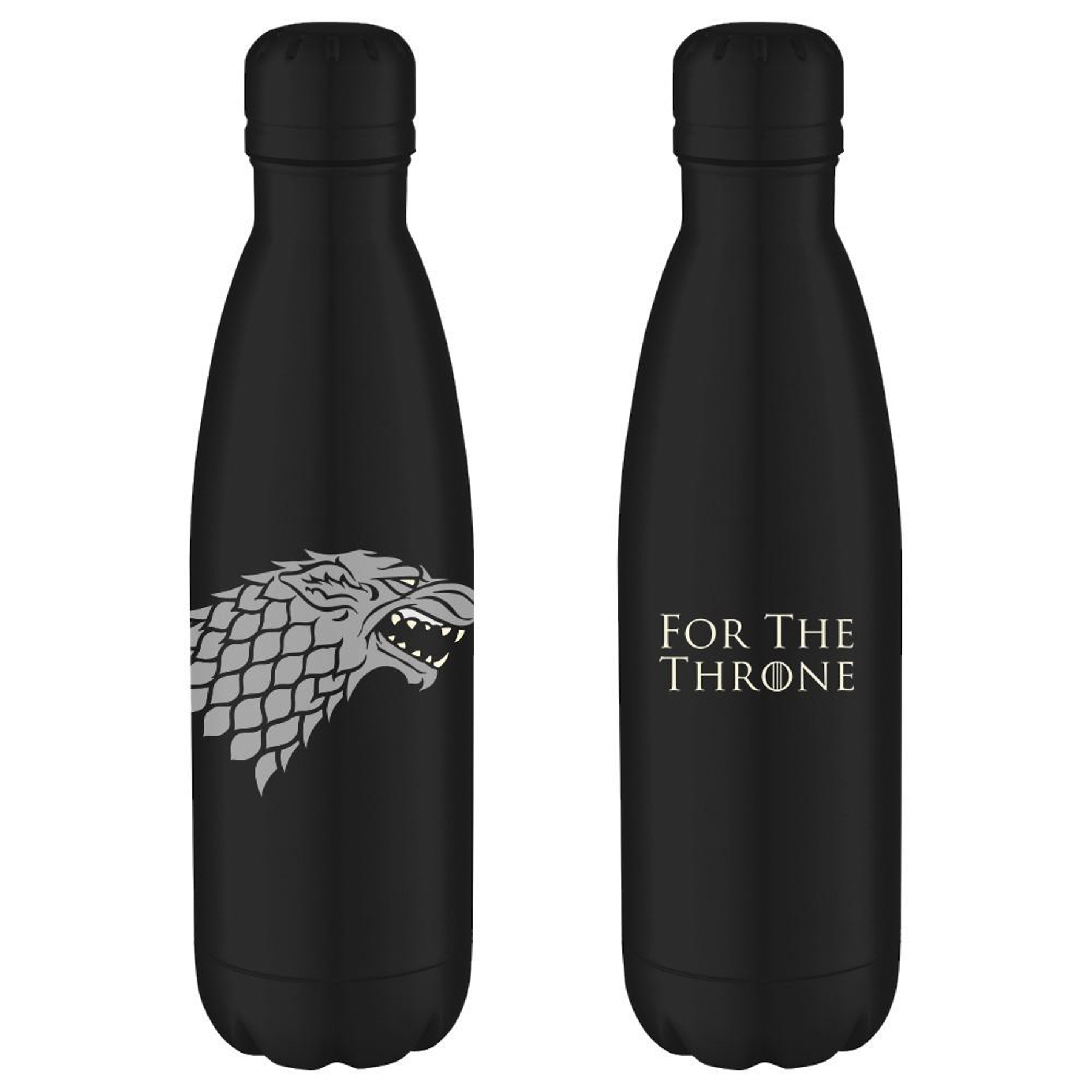 For the Throne Stark Sigil Water Bottle From Game of Thrones https://shop.hbo.com/products/for-the-throne-stark-sigil-water-bottle-from-game-of-thrones CR: HBO Shop