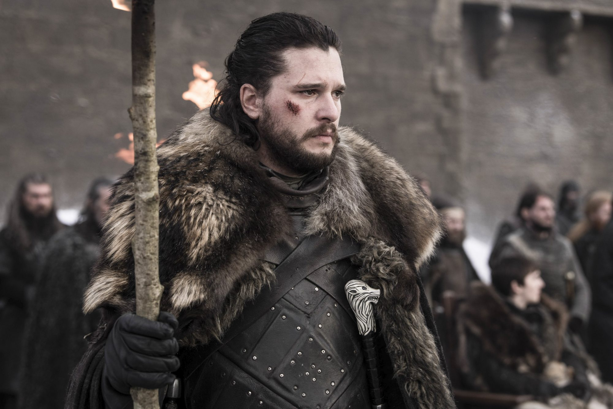 Game of Thrones Season 8, Episode 4 Kit Harington as Jon Snow - Photo: Helen Sloan/HBO