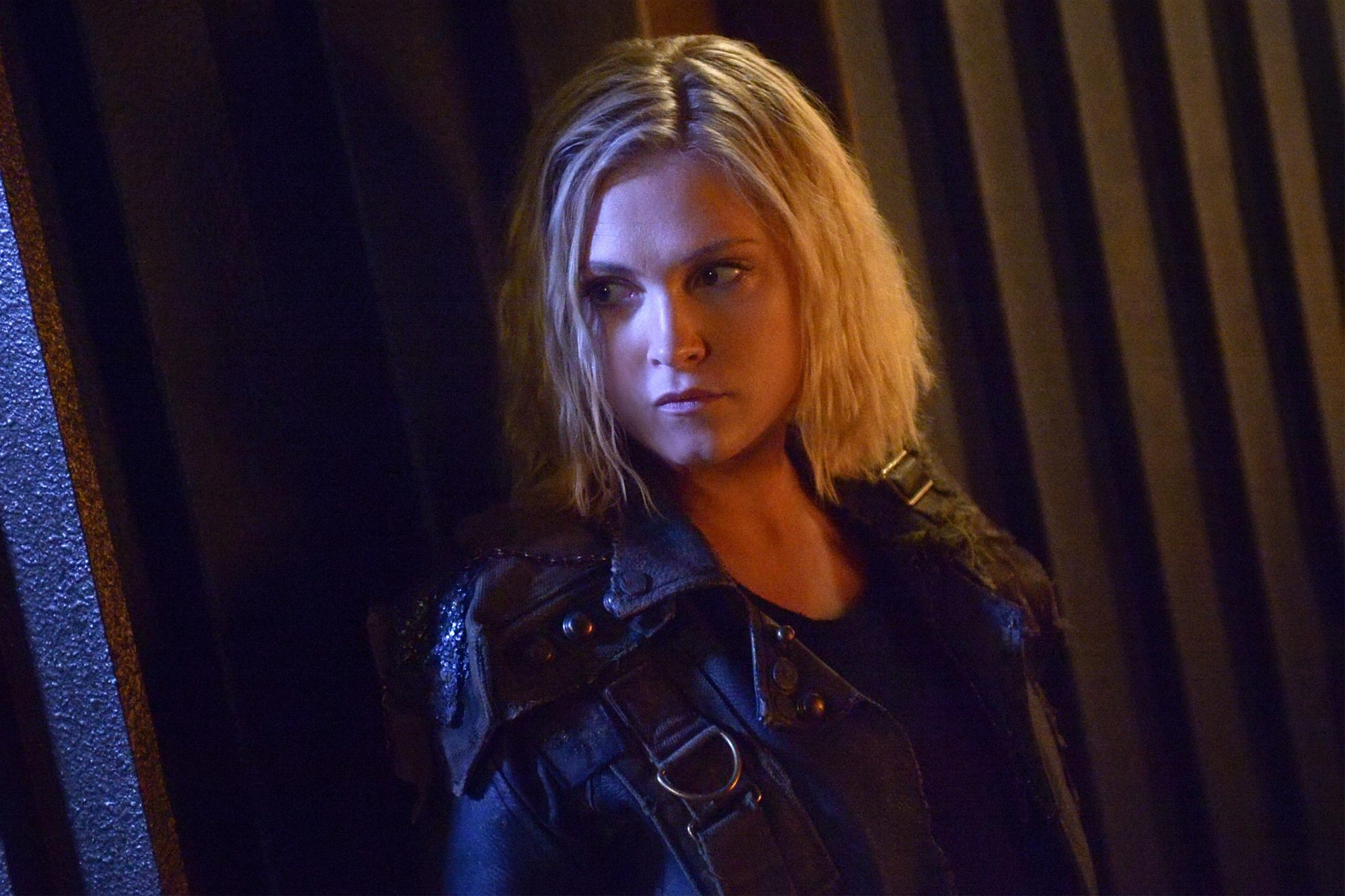 "The 100 -- ""The Gospel of Josephine"" -- Image Number: HU605a_0679r.jpg -- Pictured: Eliza Taylor as Clarke -- Photo: Sergei Bachlakov/The CW -- © 2019 The CW Network, LLC. All rights reserved."