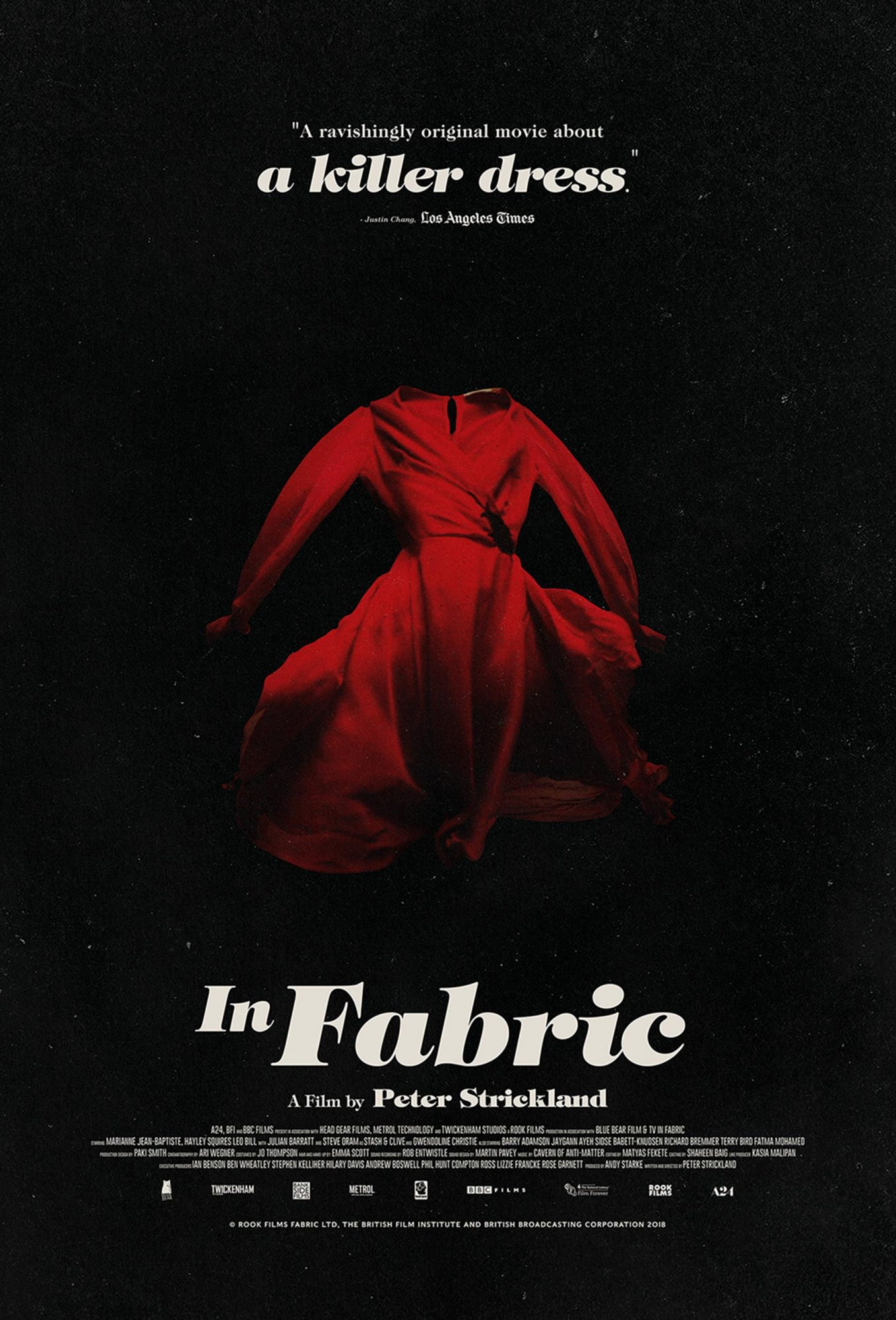 In Fabric poster CR: A24