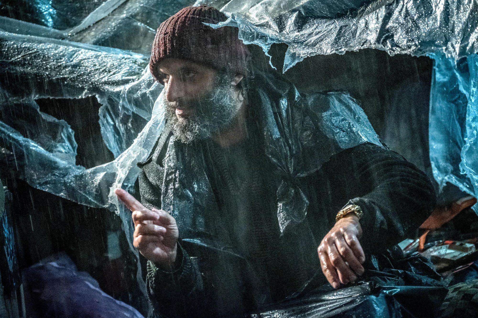 Jason Mantzoukas stars as 'The Tick Tock Man' in JOHN WICK: CHAPTER 3 - PARABELLUM. Photo Credit: Niko Tavernise.