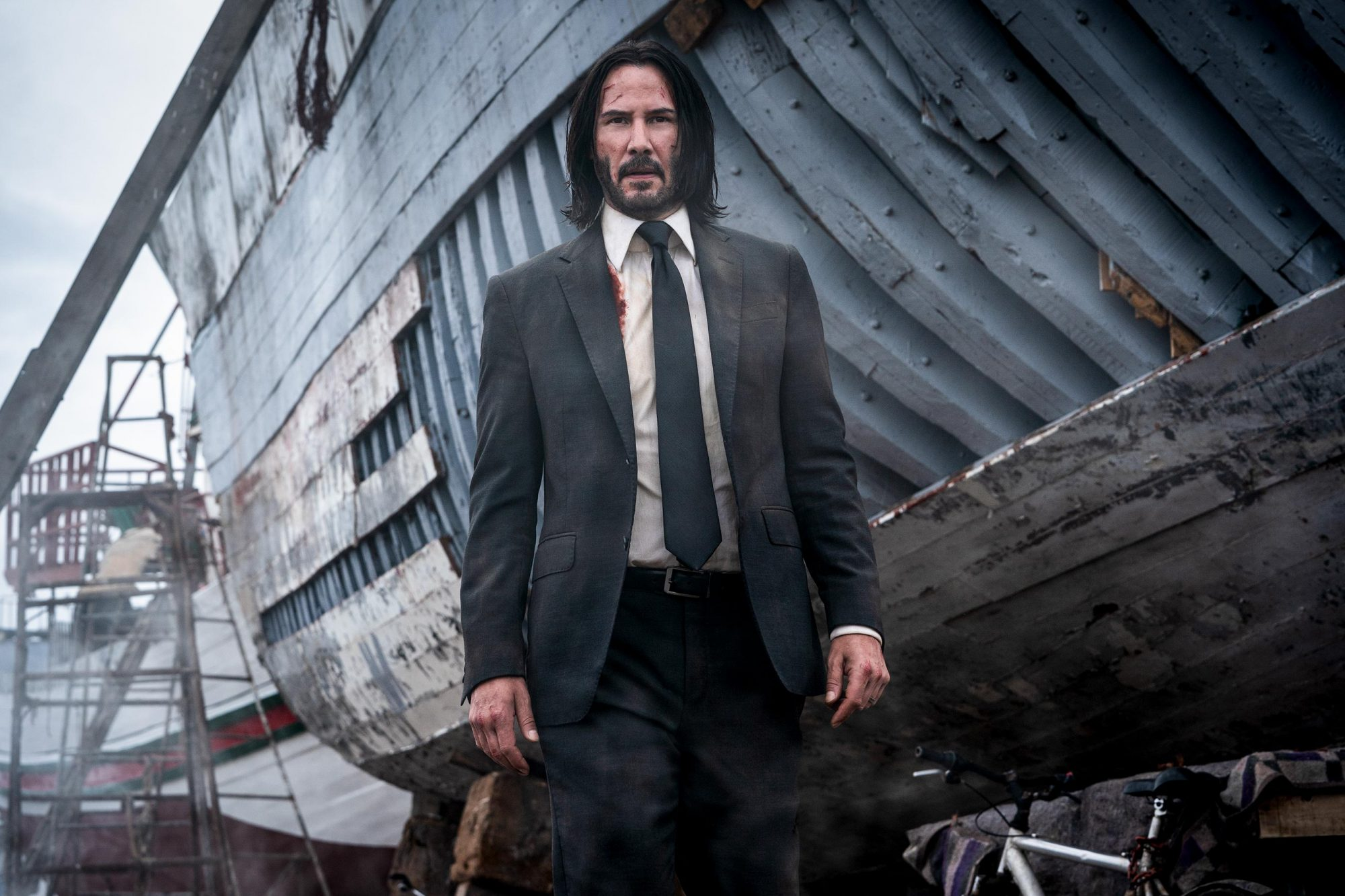 Keanu Reeves stars as 'John Wick' in JOHN WICK: CHAPTER 3 - PARABELLUM. Photo Credit: Mark Rogers/Lionsgate