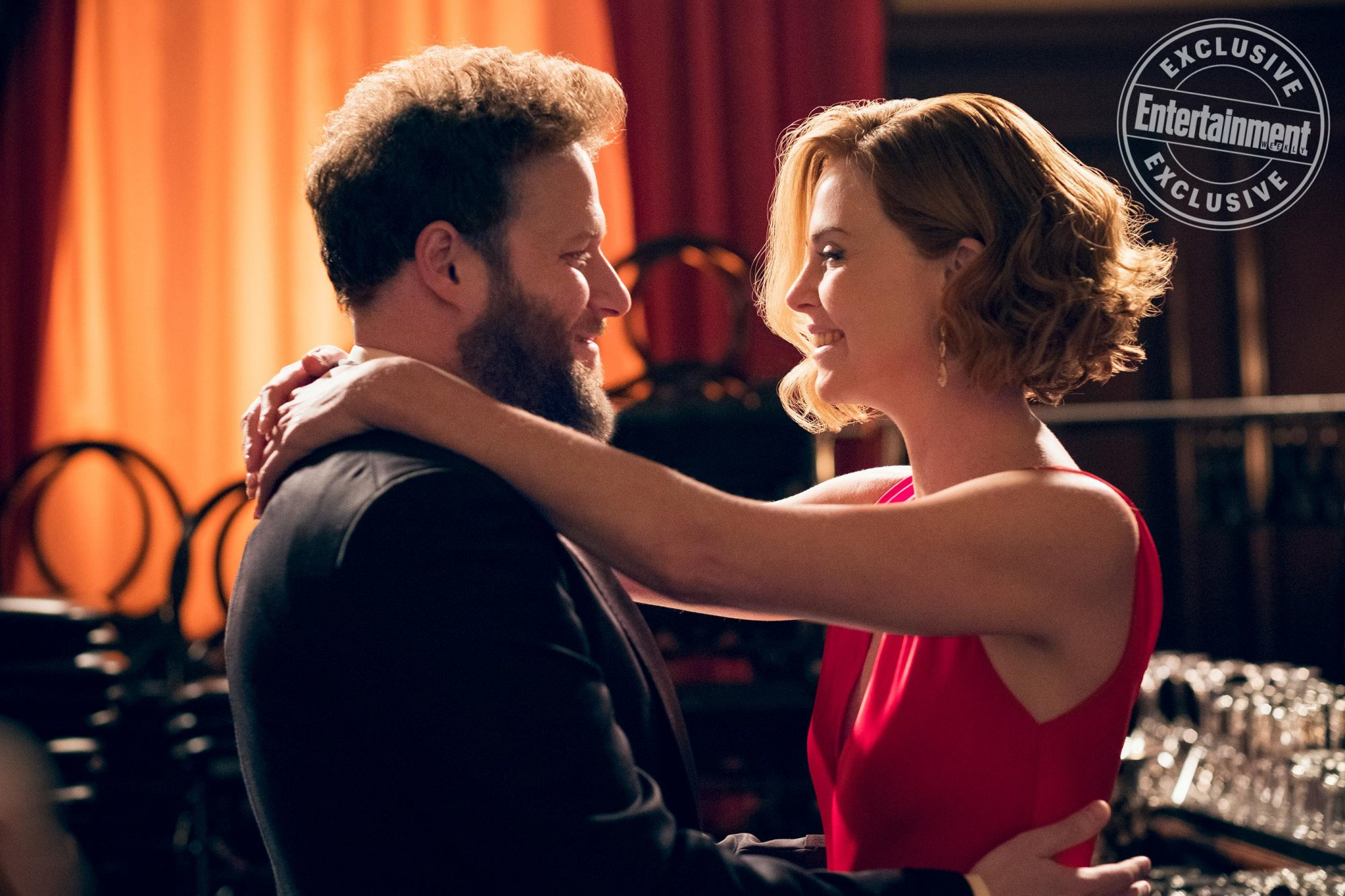 LONG SHOTFred Flarsky (Seth Rogen) and Charlotte Field (Charlize Theron)
