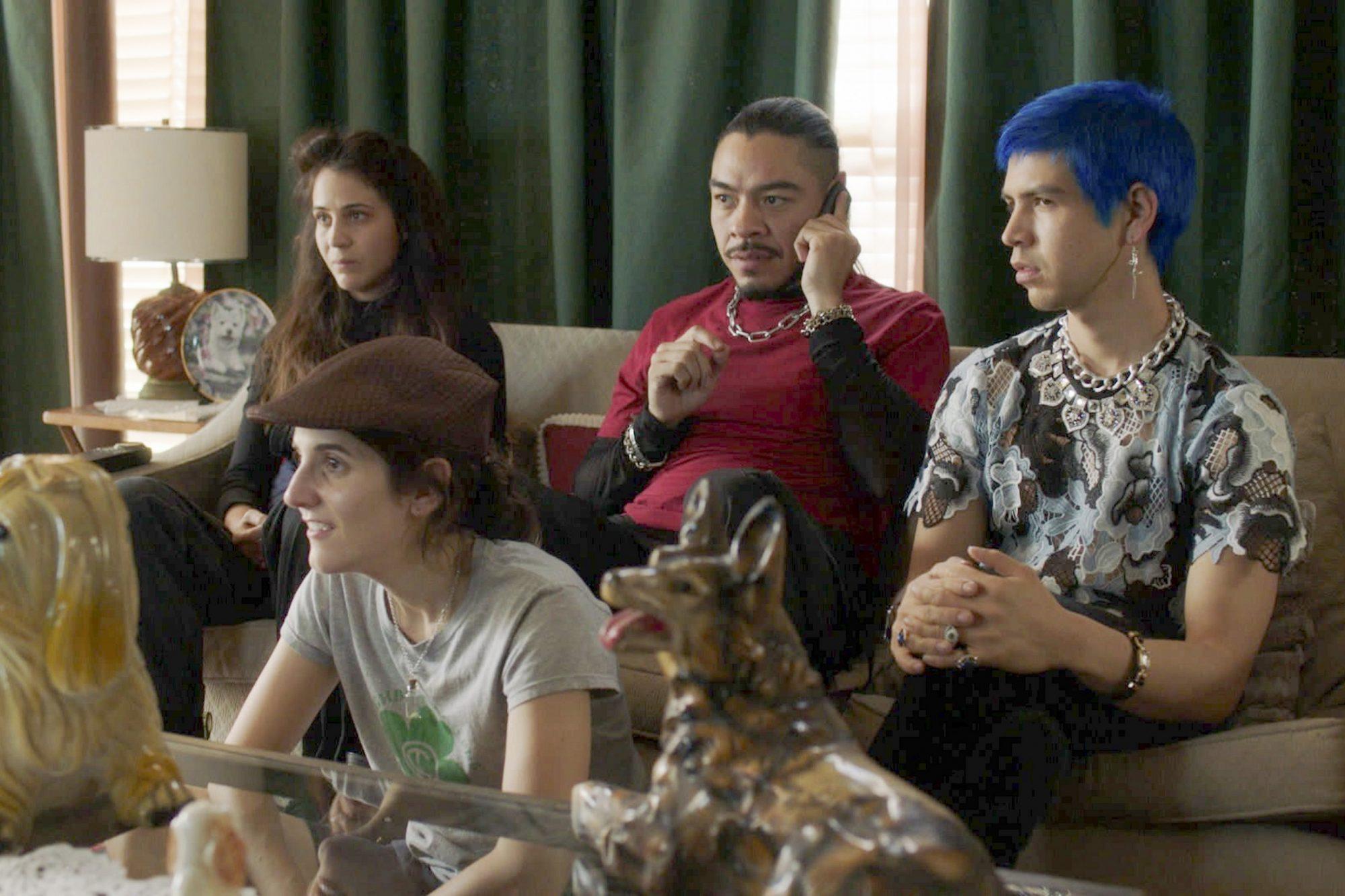 LOS ESPOOKYS Season 1 Bernardo Velasco, Cassandra Ciangherotti, Ana Fabrega, Julio Torres. photo: HBO